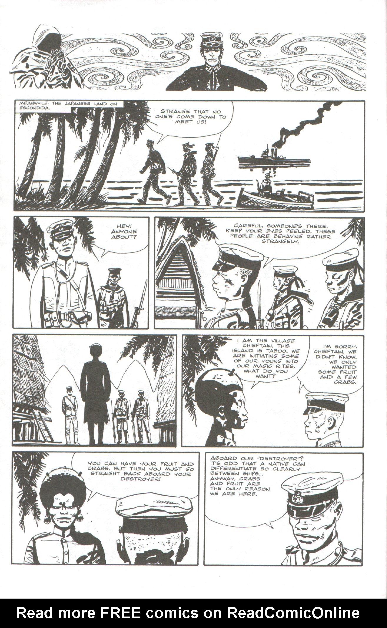 Read online Corto Maltese: Ballad of the Salt Sea comic -  Issue #5 - 6