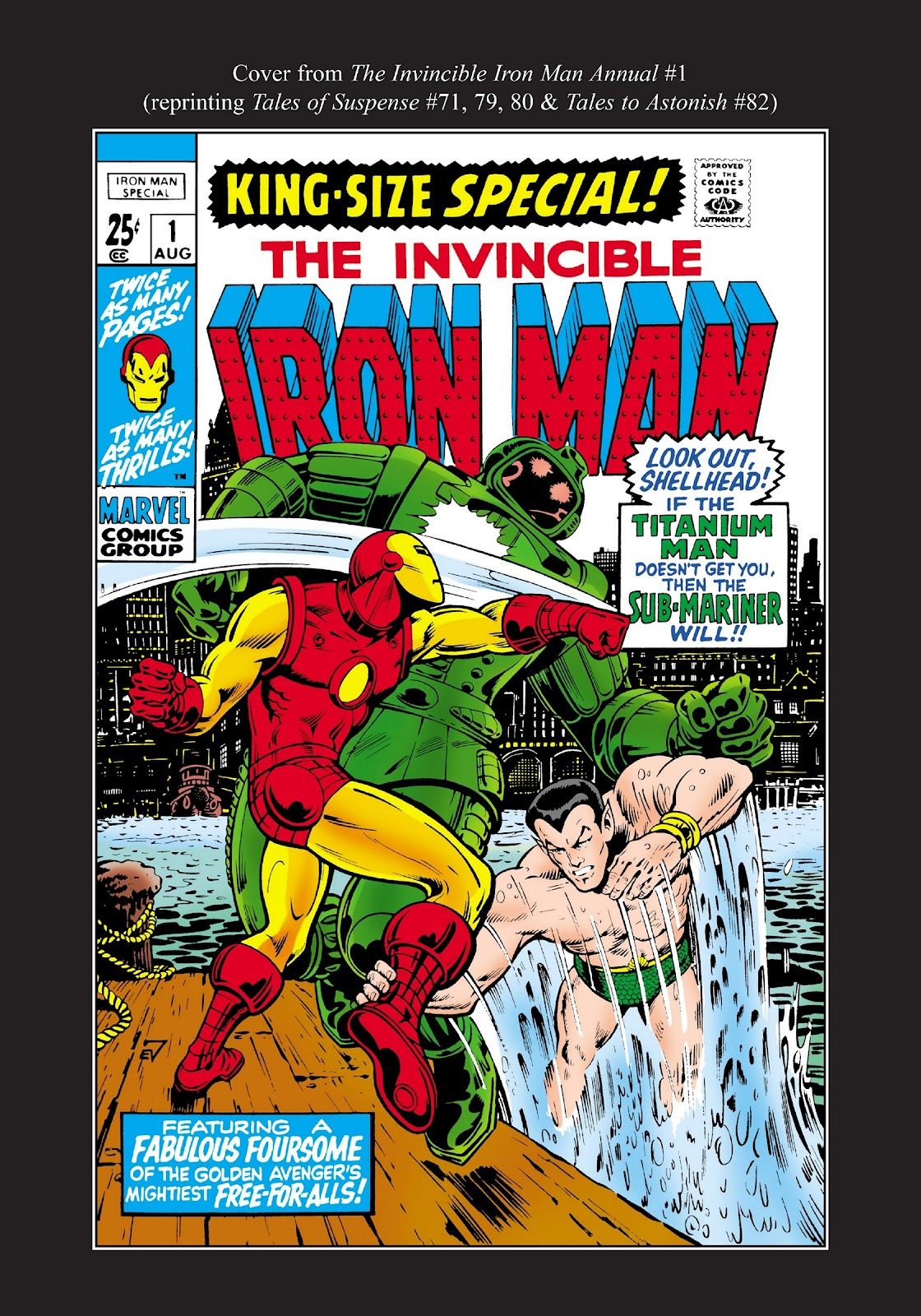 Read online Marvel Masterworks: The Invincible Iron Man comic -  Issue # TPB 7 (Part 3) - 89