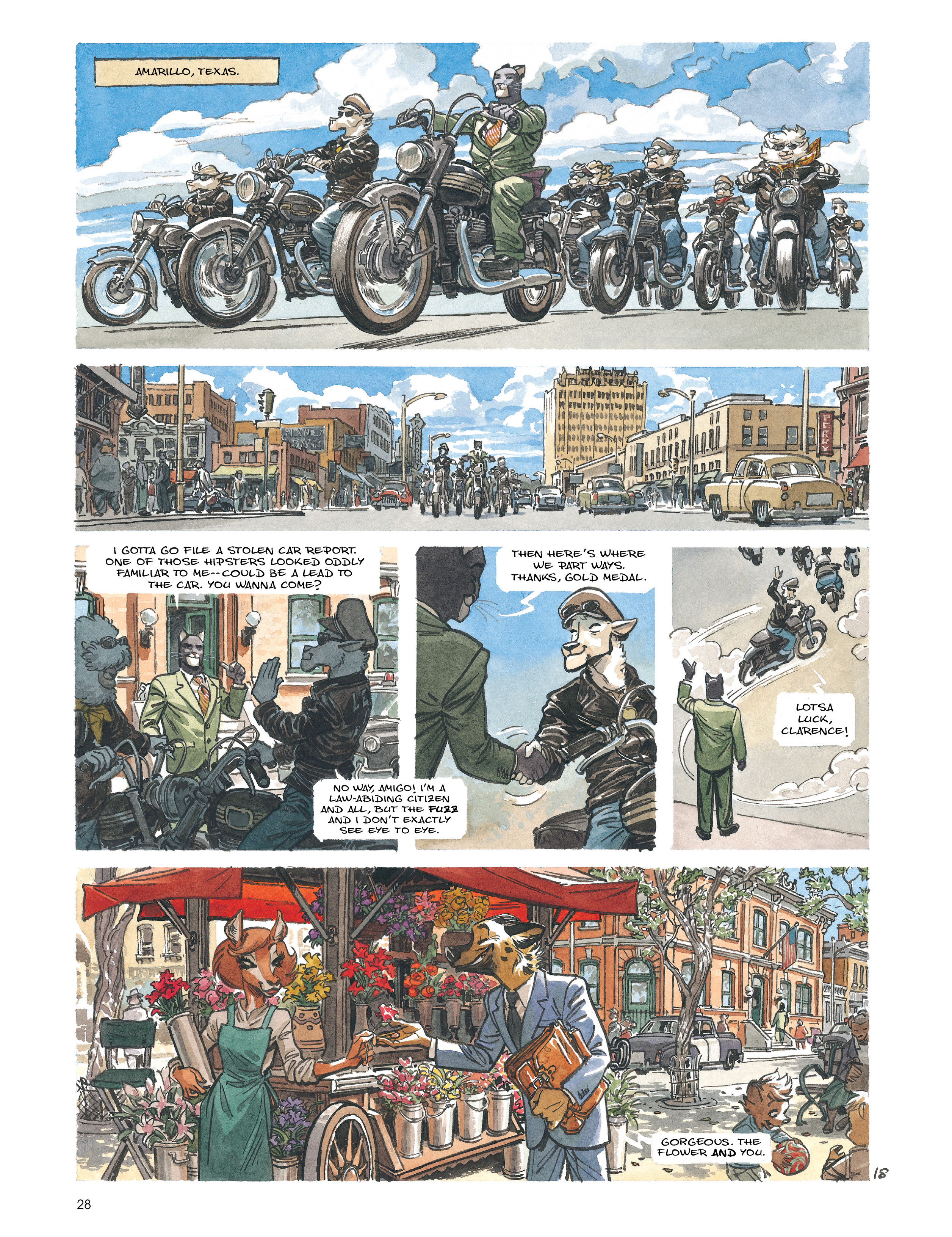 Read online Blacksad: Amarillo comic -  Issue # Full - 27