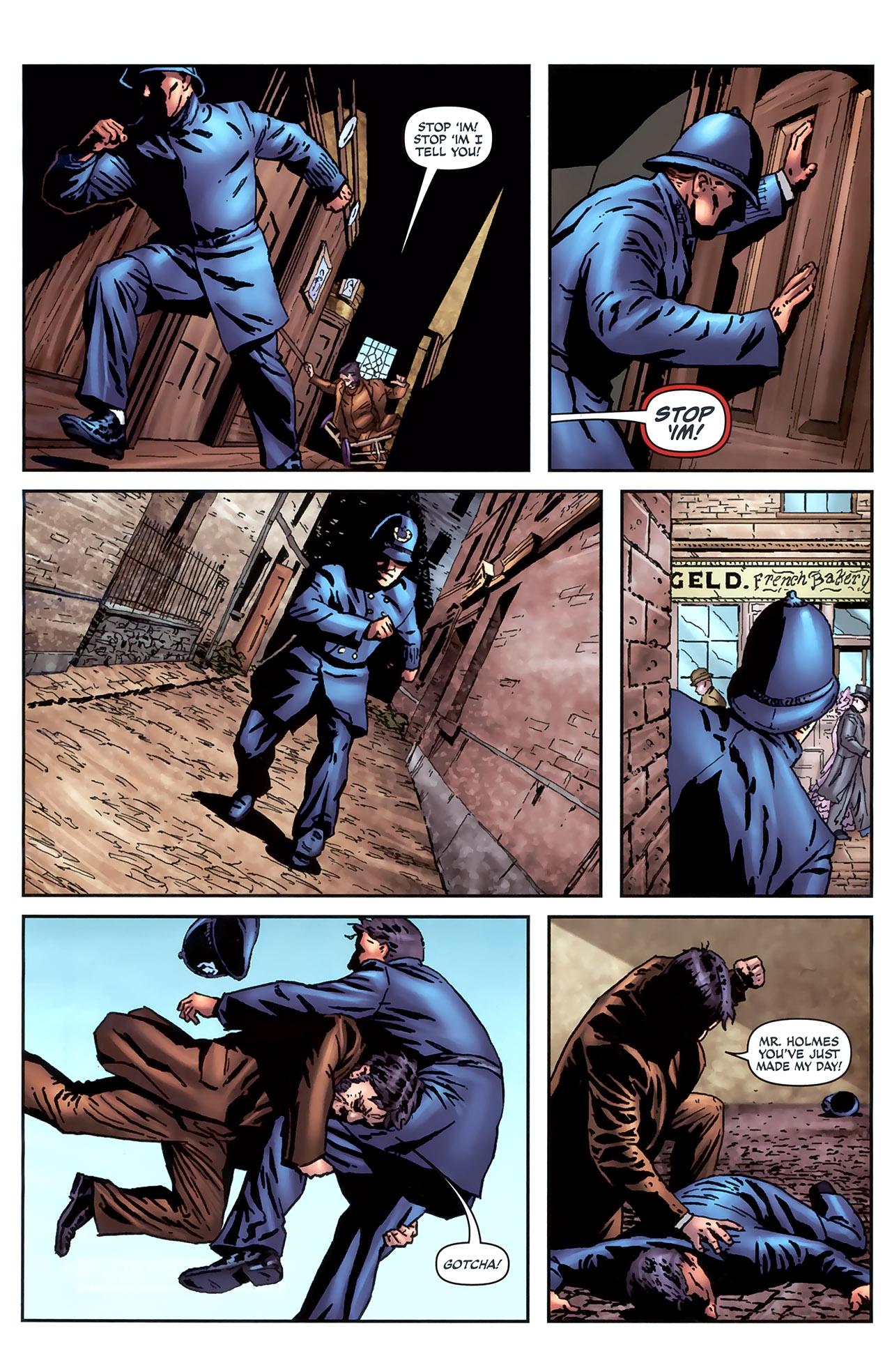 Read online Sherlock Holmes (2009) comic -  Issue #4 - 7