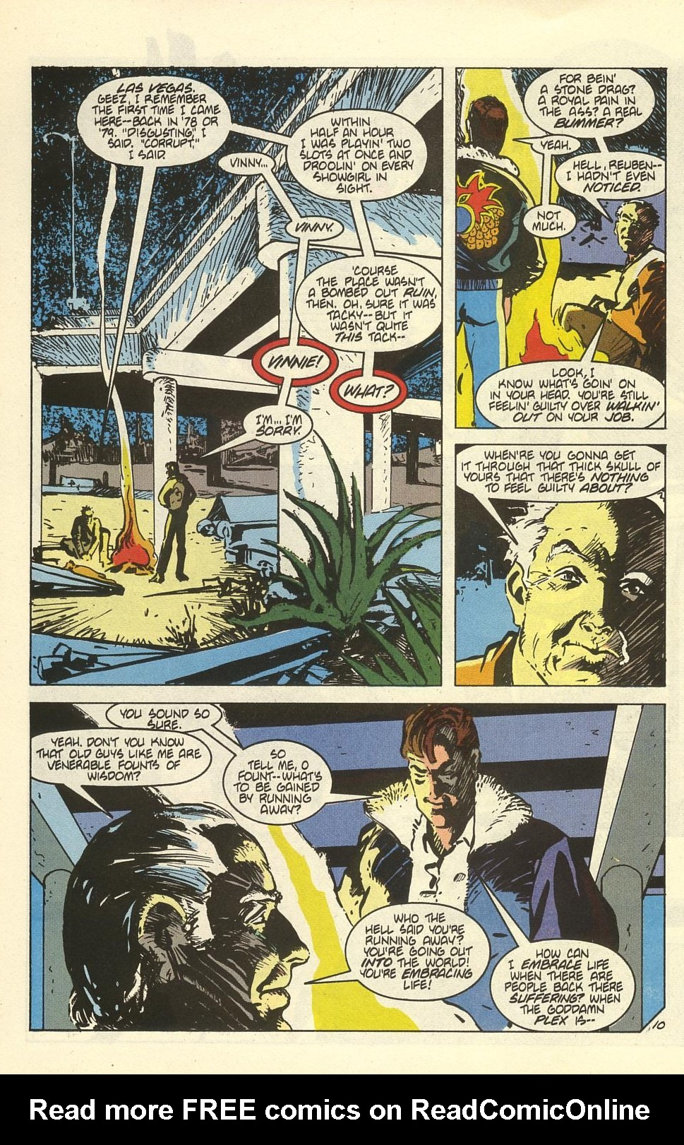 Read online American Flagg! comic -  Issue #41 - 12