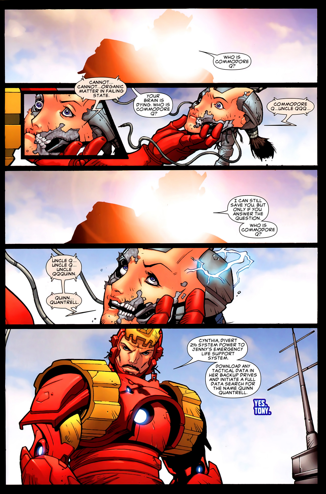 Read online Astonishing Tales (2009) comic -  Issue #6 - 12