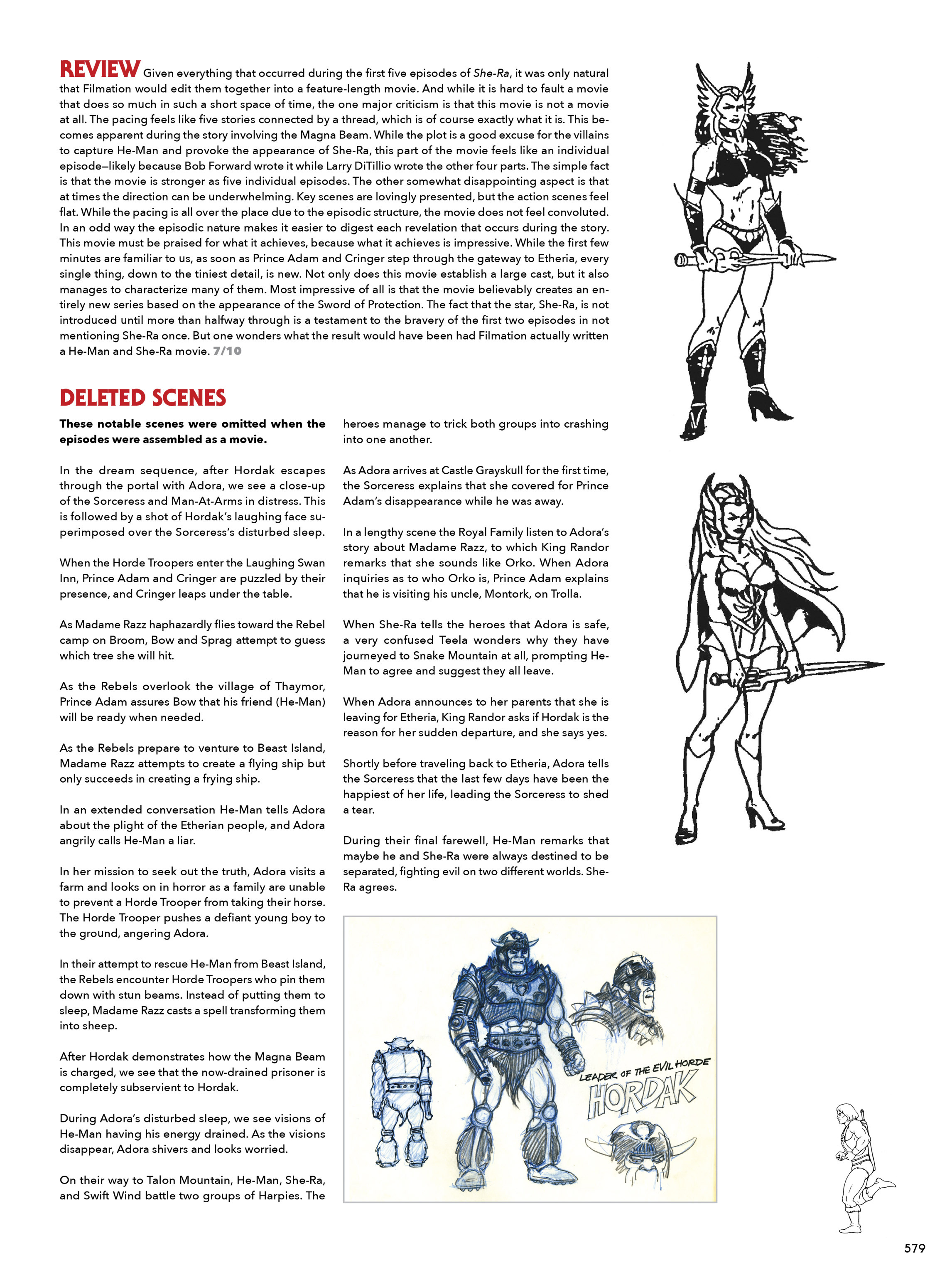 Read online He-Man and She-Ra: A Complete Guide to the Classic Animated Adventures comic -  Issue # TPB (Part 3) - 179