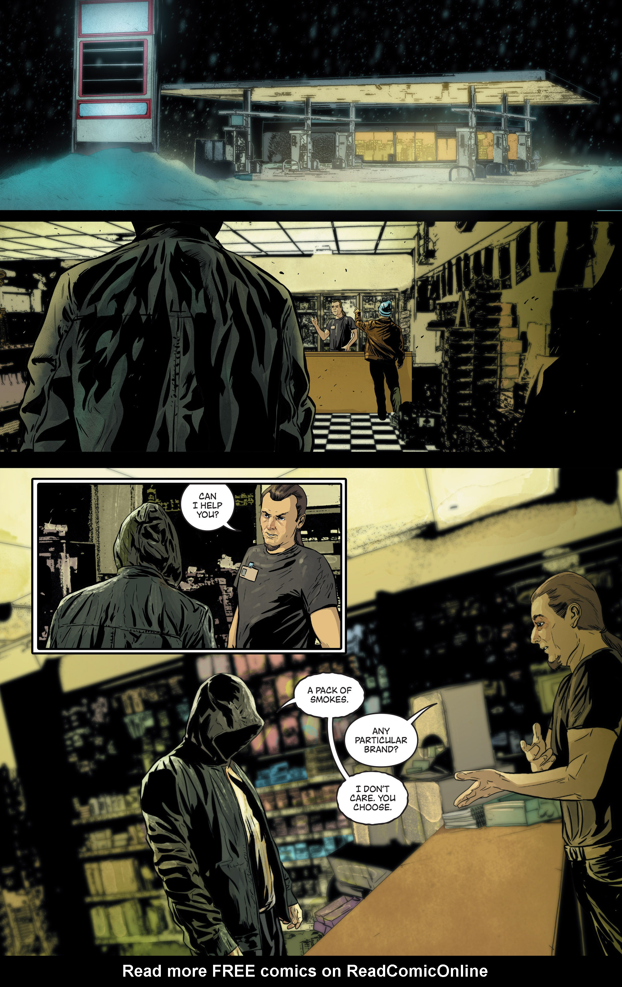 Read online Second Sight comic -  Issue #3 - 28