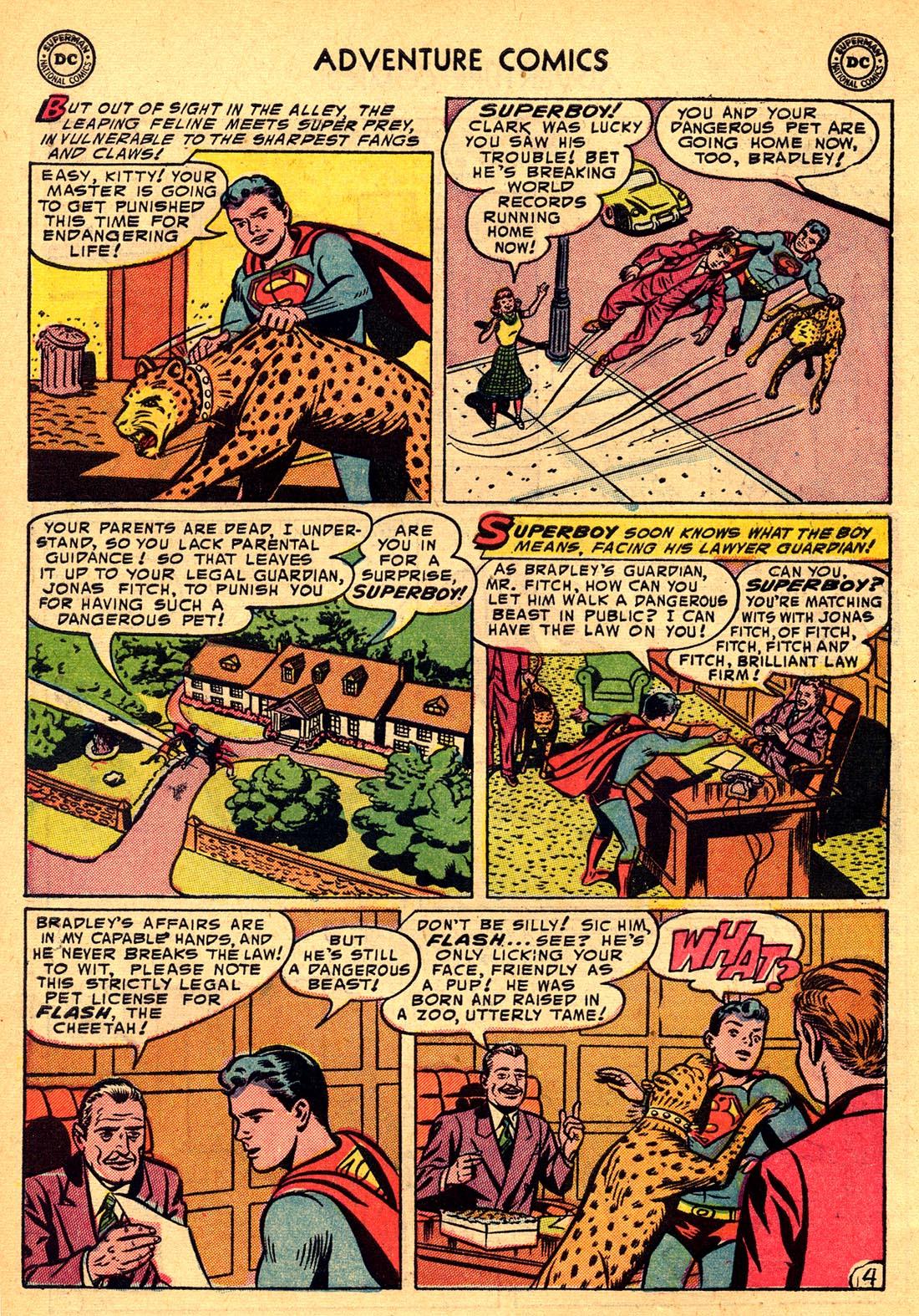 Read online Adventure Comics (1938) comic -  Issue #204 - 6