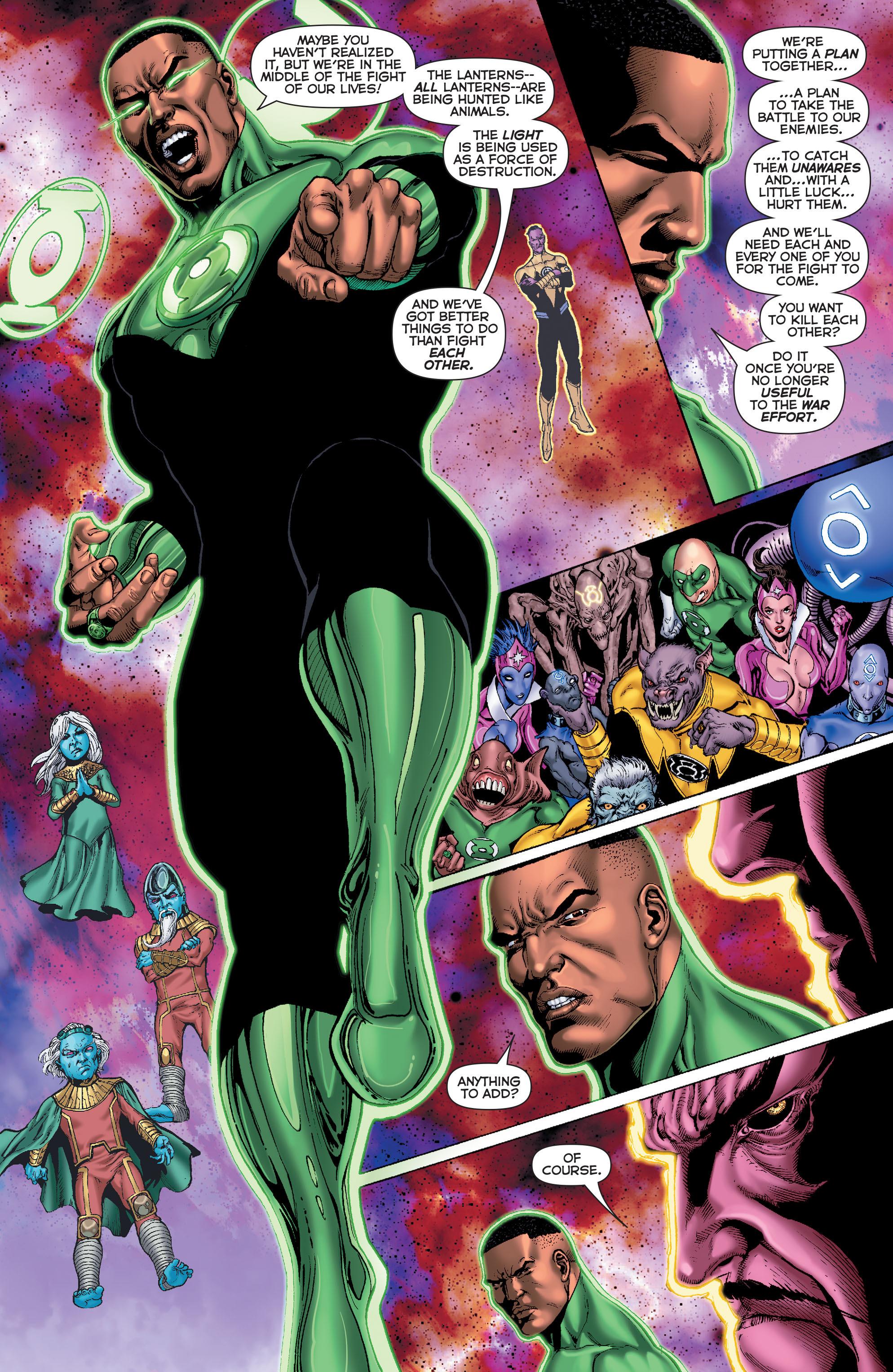 Read online Sinestro comic -  Issue #7 - 15