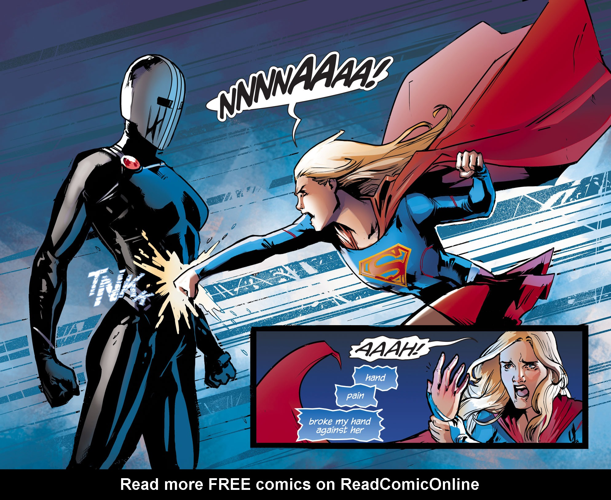 Read online Adventures of Supergirl comic -  Issue #9 - 13