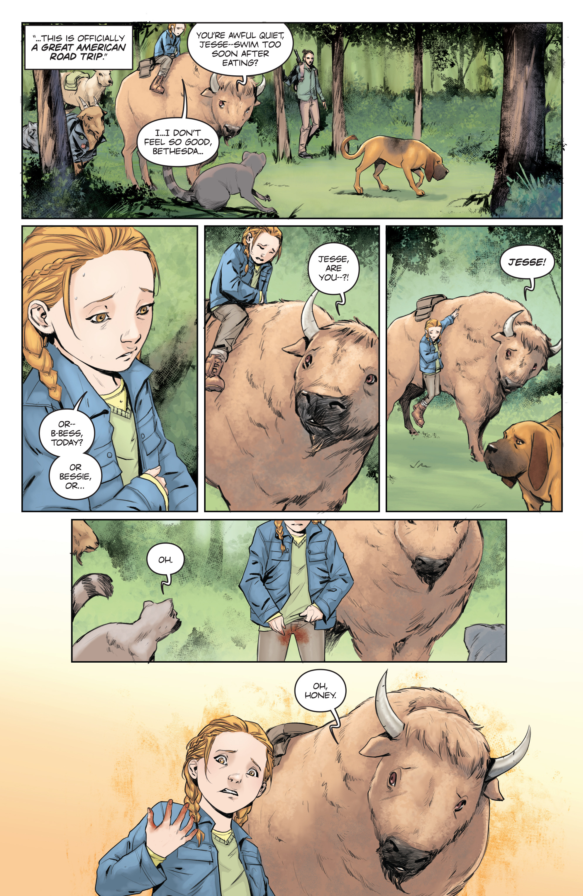 Read online Animosity comic -  Issue #5 - 9