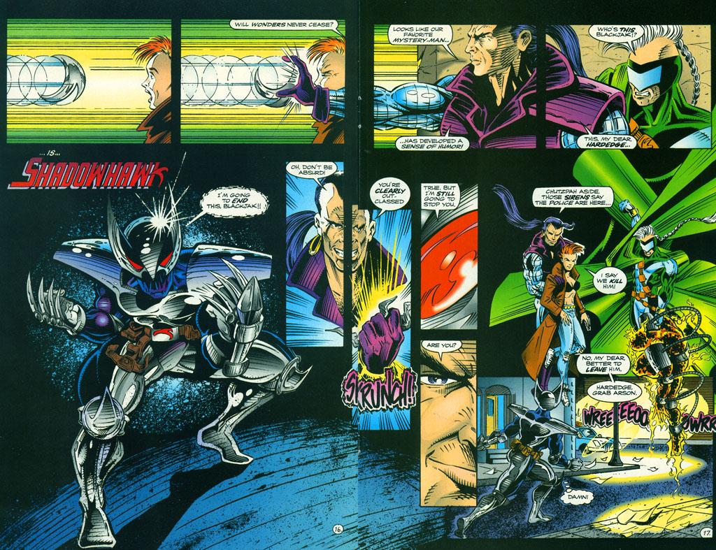 Read online ShadowHawk comic -  Issue #5 - 22