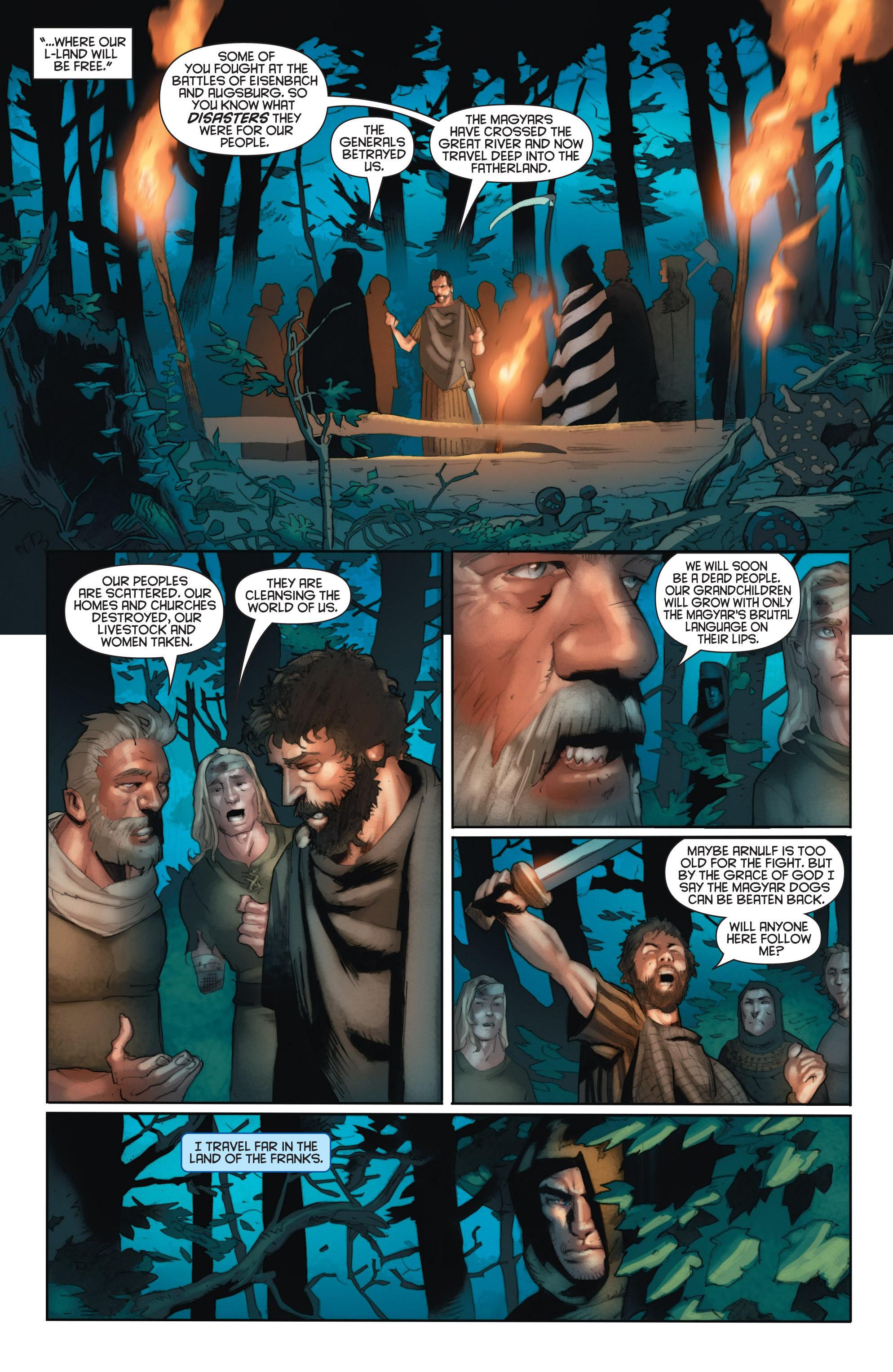 Read online Eternal Warrior: Days of Steel comic -  Issue #1 - 14