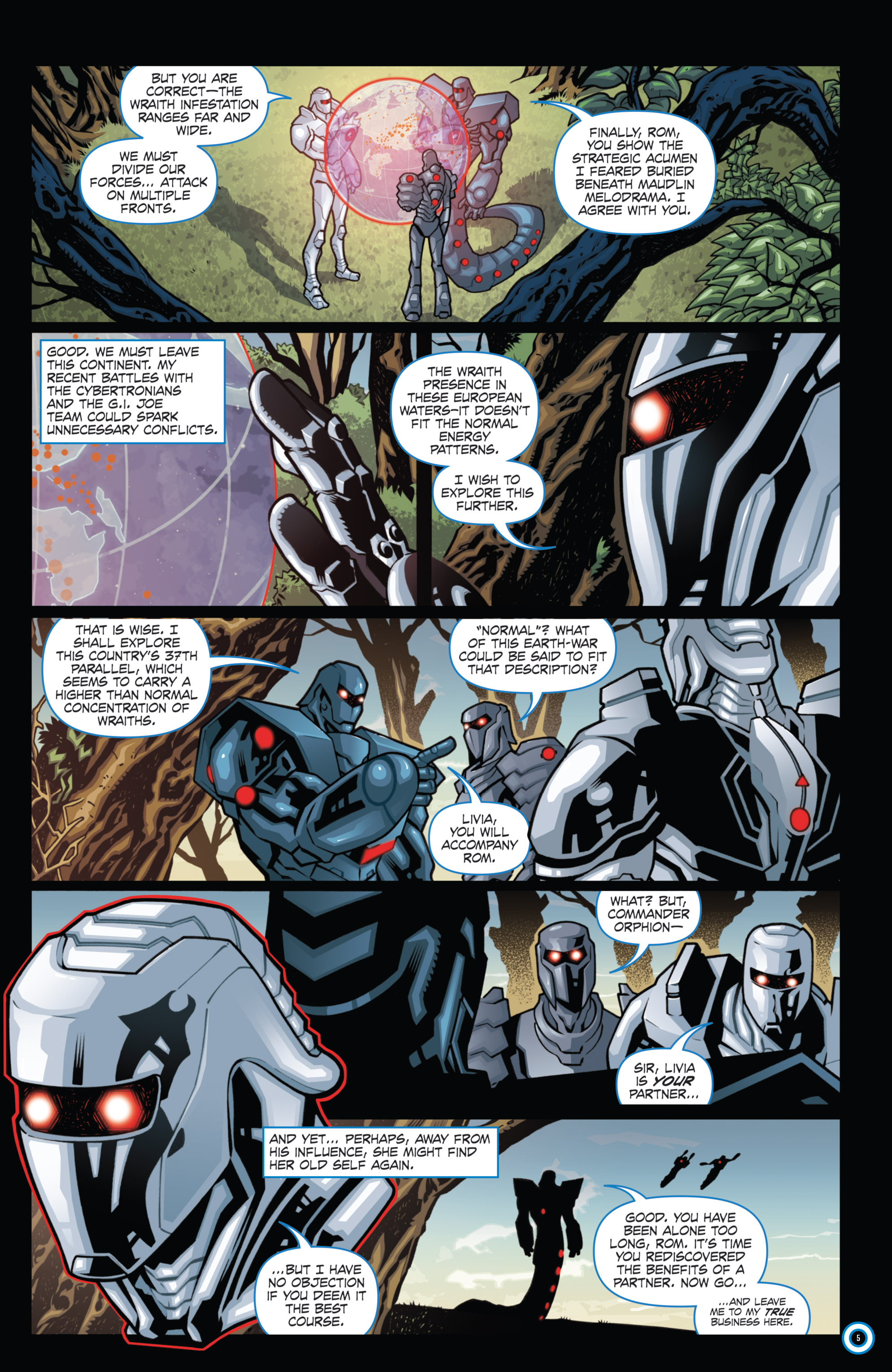 Read online ROM (2016) comic -  Issue #11 - 7