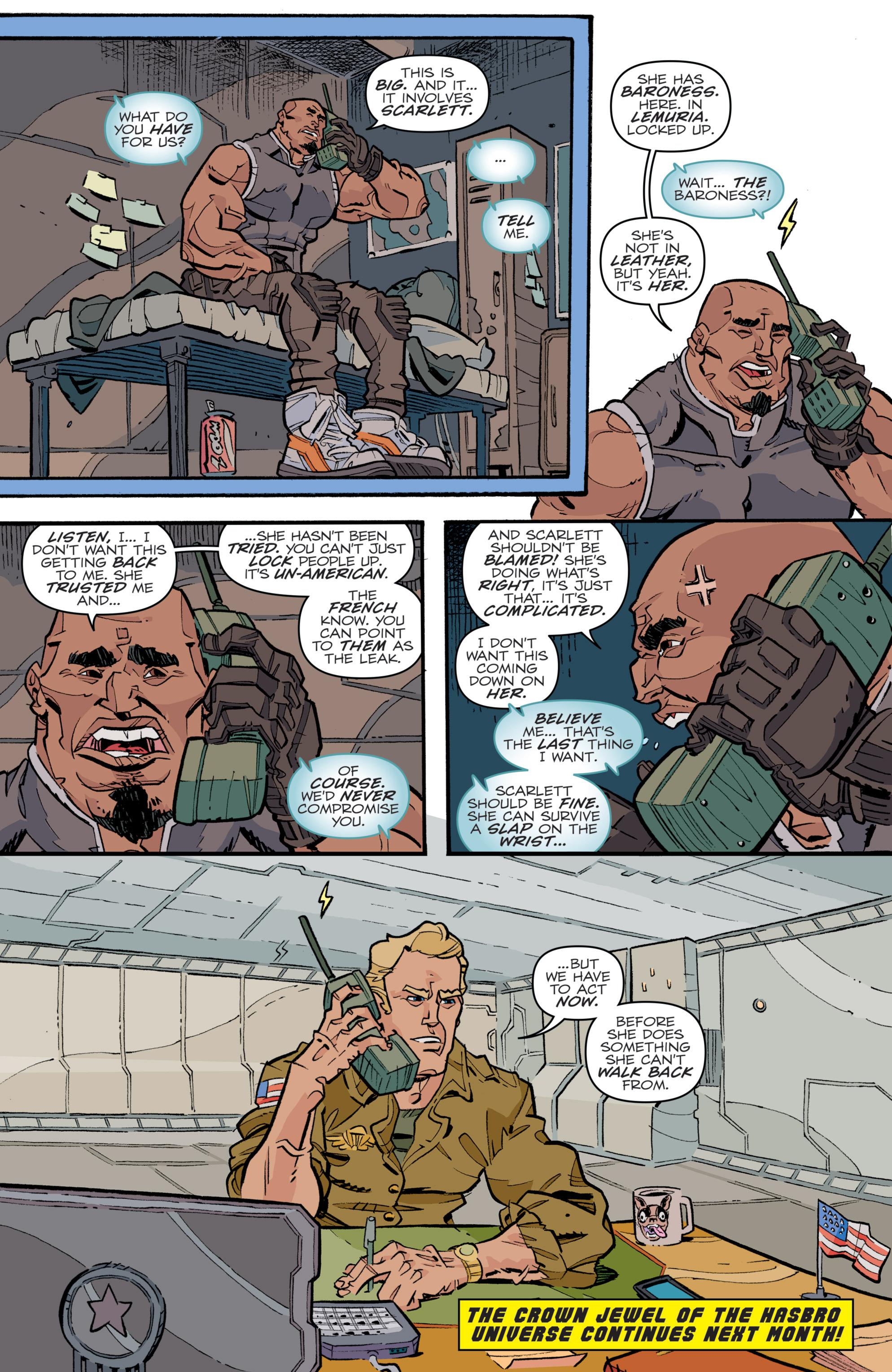 Read online G.I. Joe (2016) comic -  Issue #5 - 24