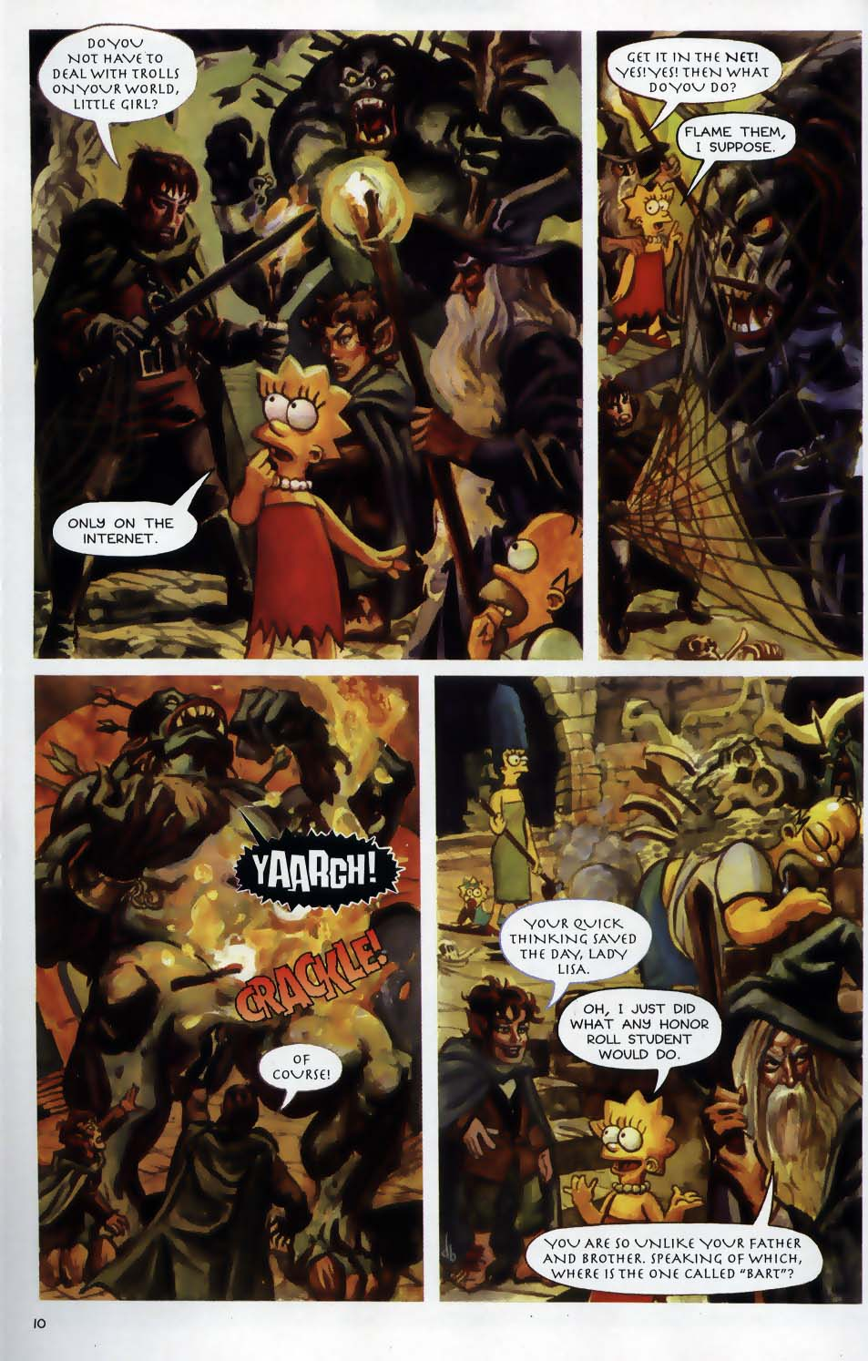 Read online Treehouse of Horror comic -  Issue #9 - 12