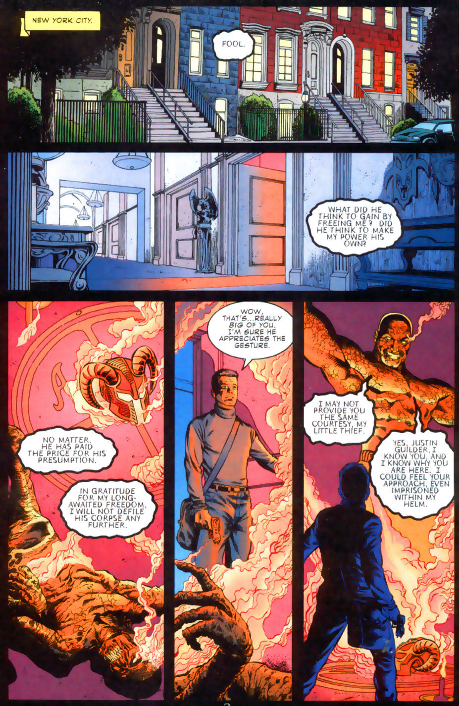 Read online Doctor Fate (2003) comic -  Issue #2 - 4
