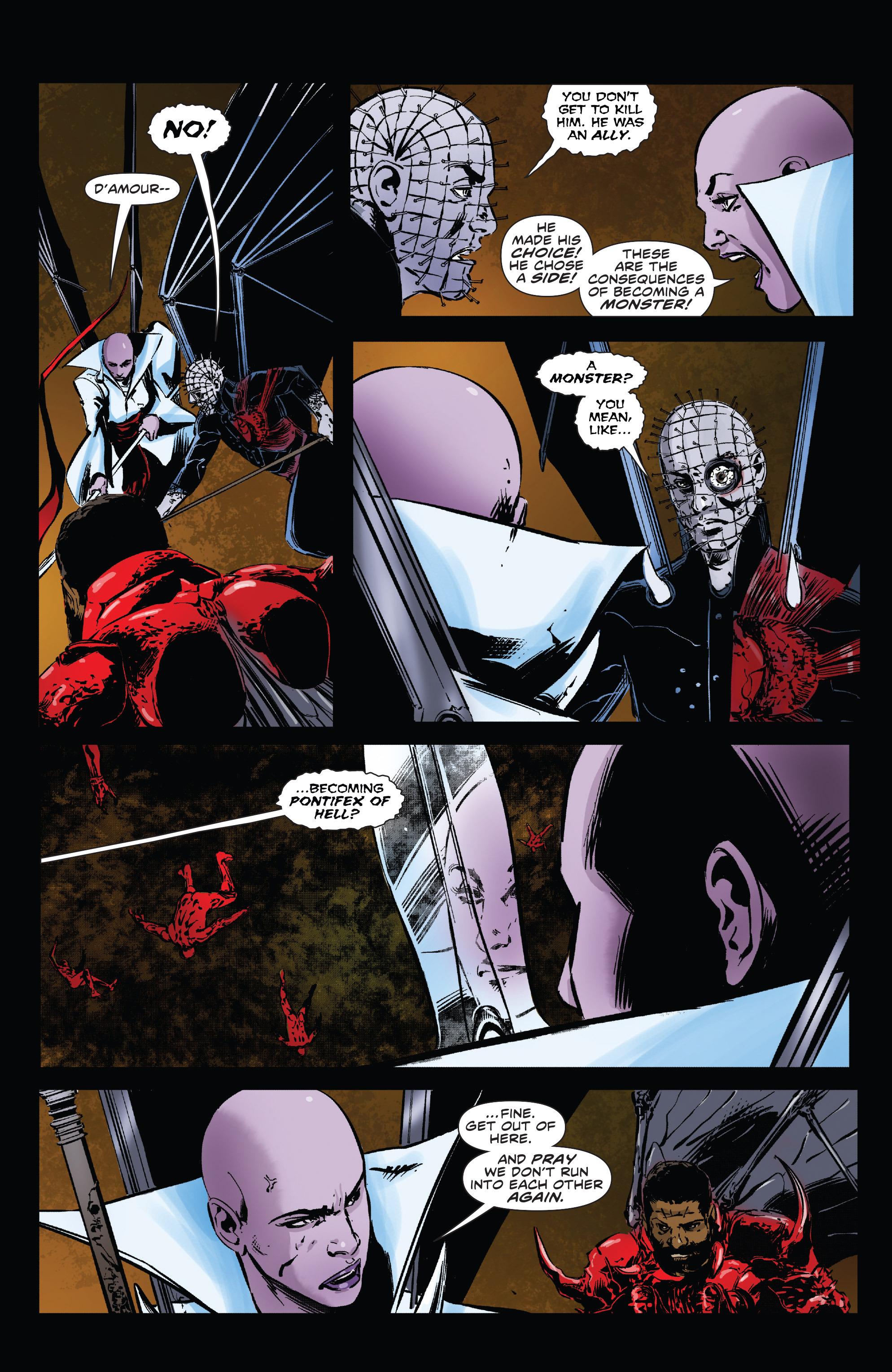 Read online Clive Barker's Hellraiser: The Dark Watch comic -  Issue # TPB 3 - 70