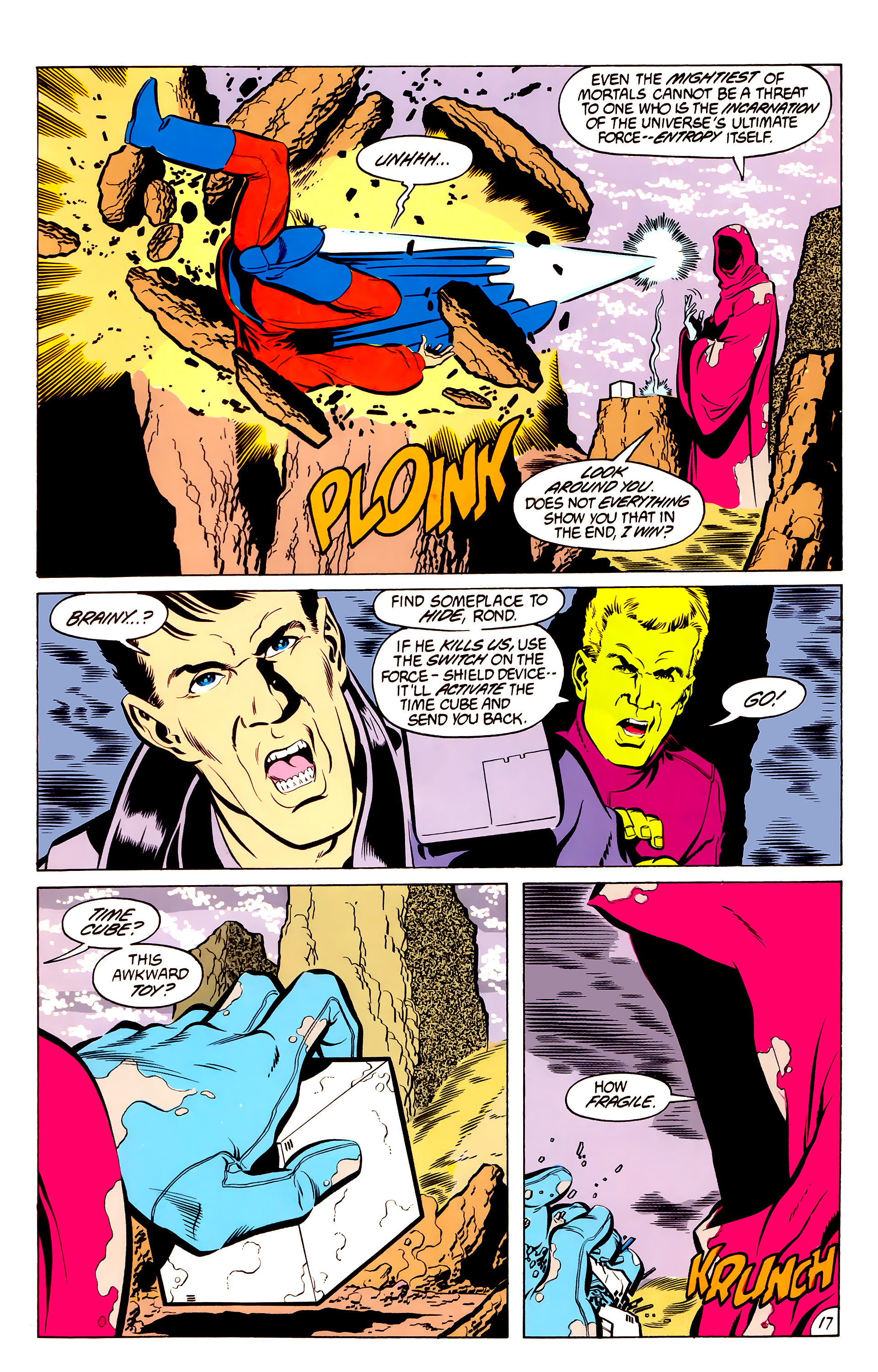 Legion of Super-Heroes (1984) 50 Page 17