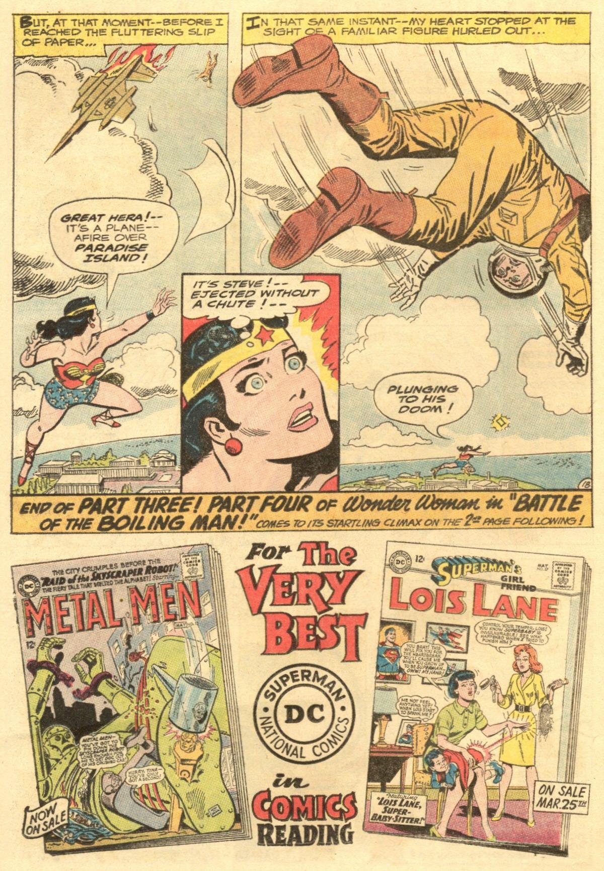 Read online Wonder Woman (1942) comic -  Issue #154 - 24
