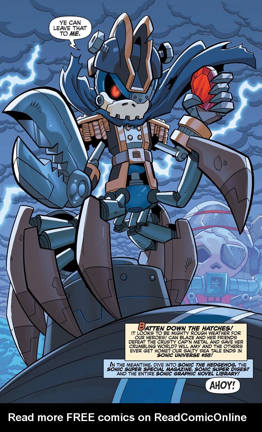 Read online Sonic Universe comic -  Issue #57 - 22