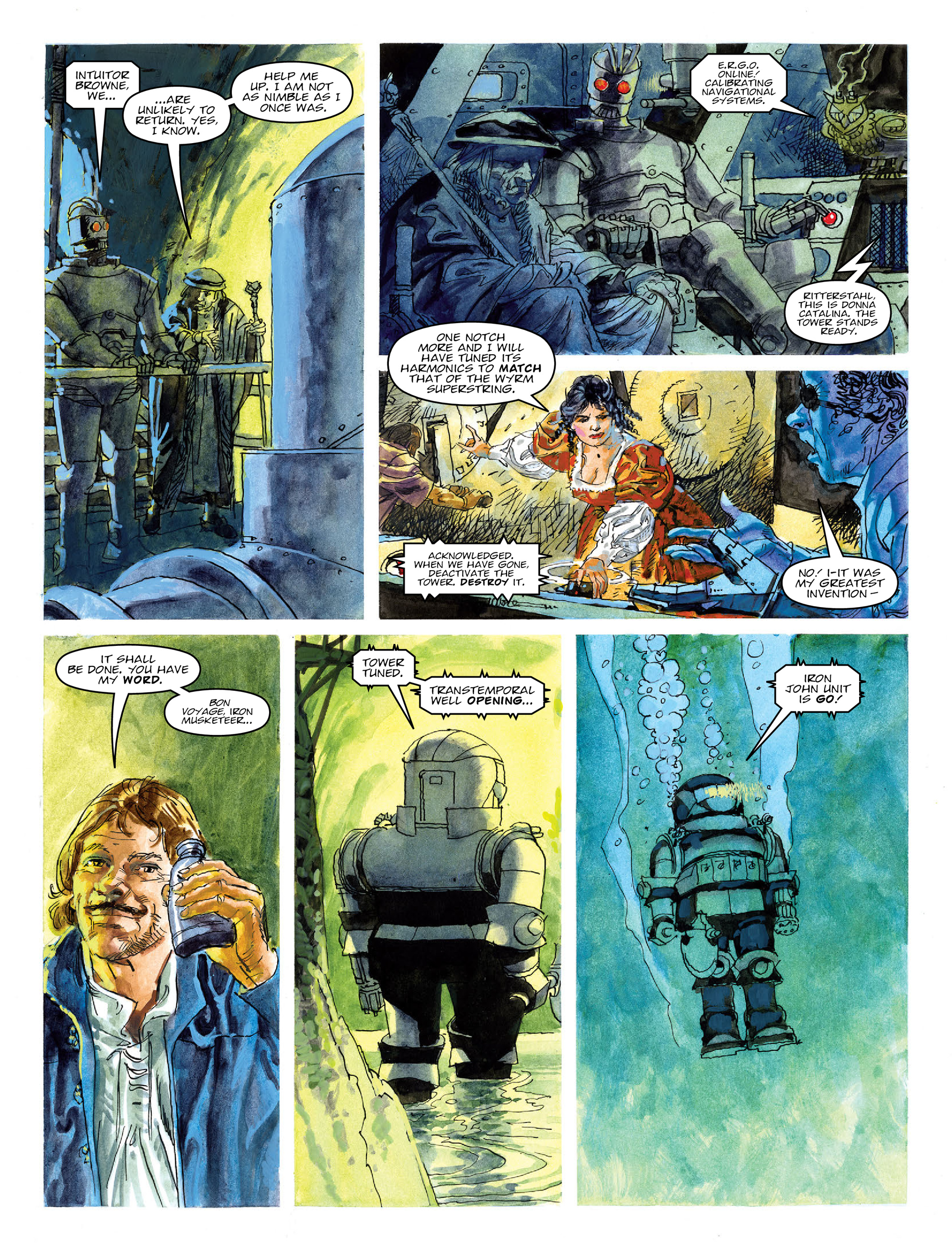 Read online 2000 AD comic -  Issue #2020 - 23