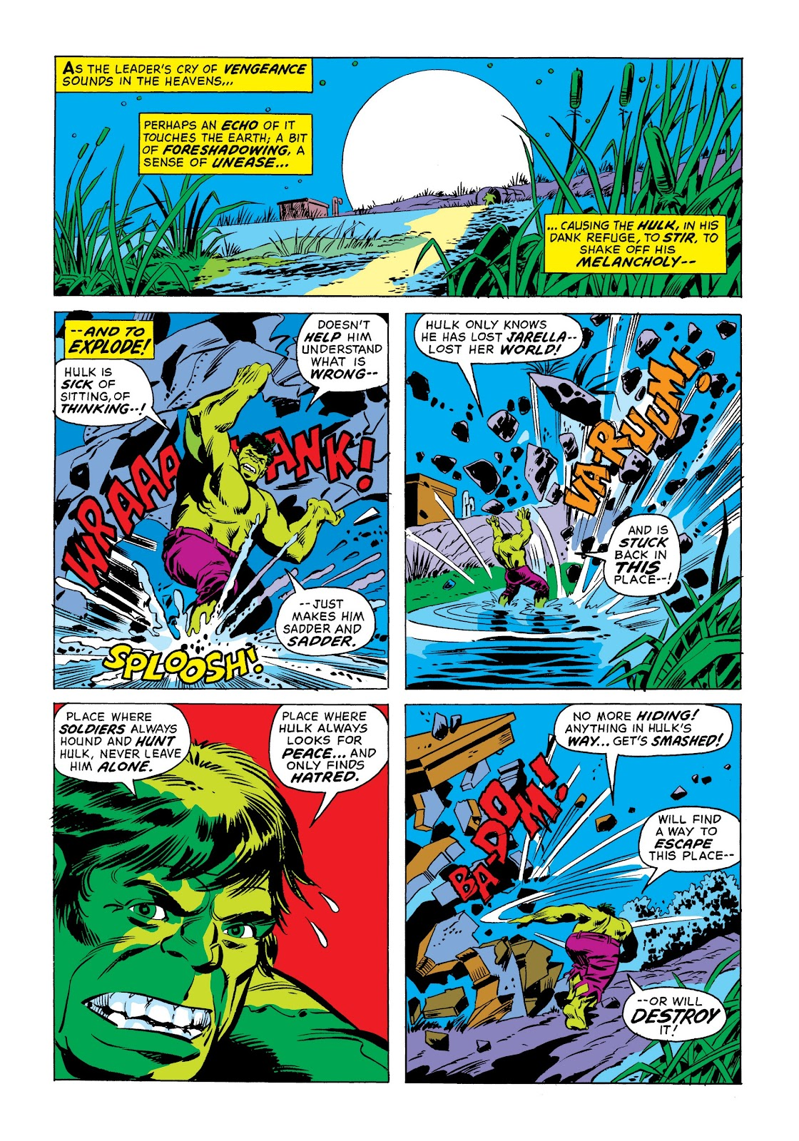 Read online Marvel Masterworks: The Incredible Hulk comic -  Issue # TPB 9 (Part 1) - 19