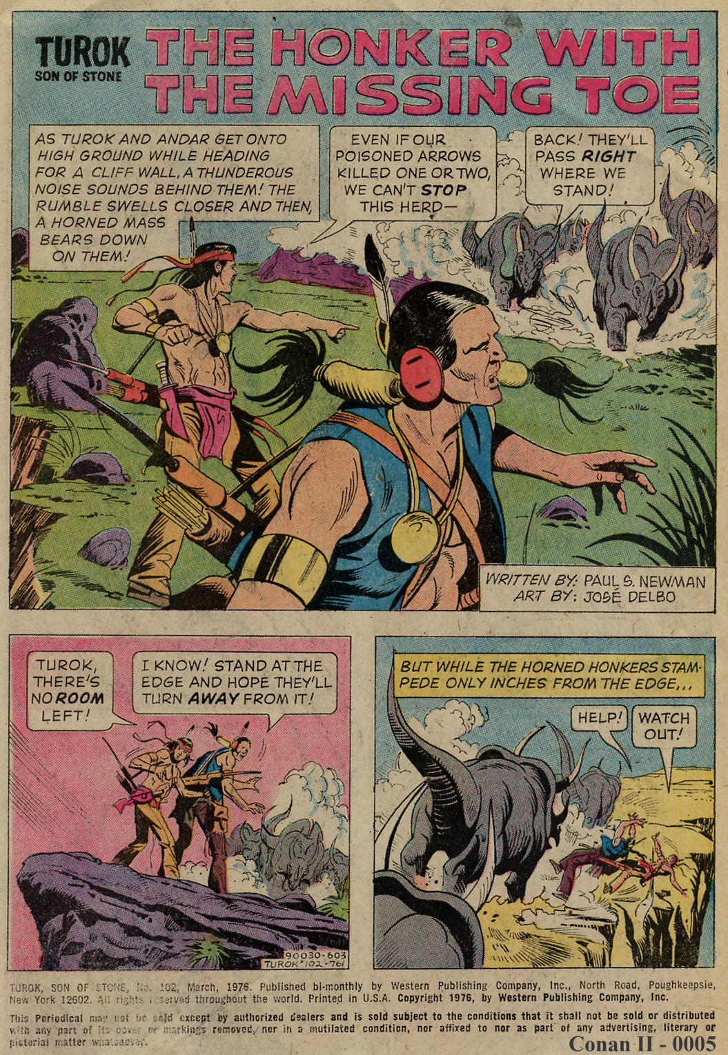 Read online Turok, Son of Stone comic -  Issue #102 - 3