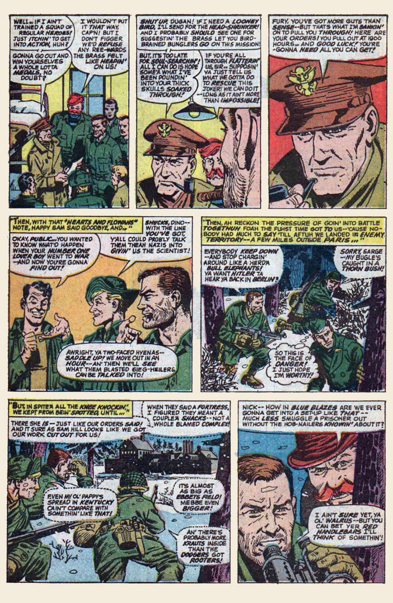 Read online Sgt. Fury comic -  Issue #139 - 12