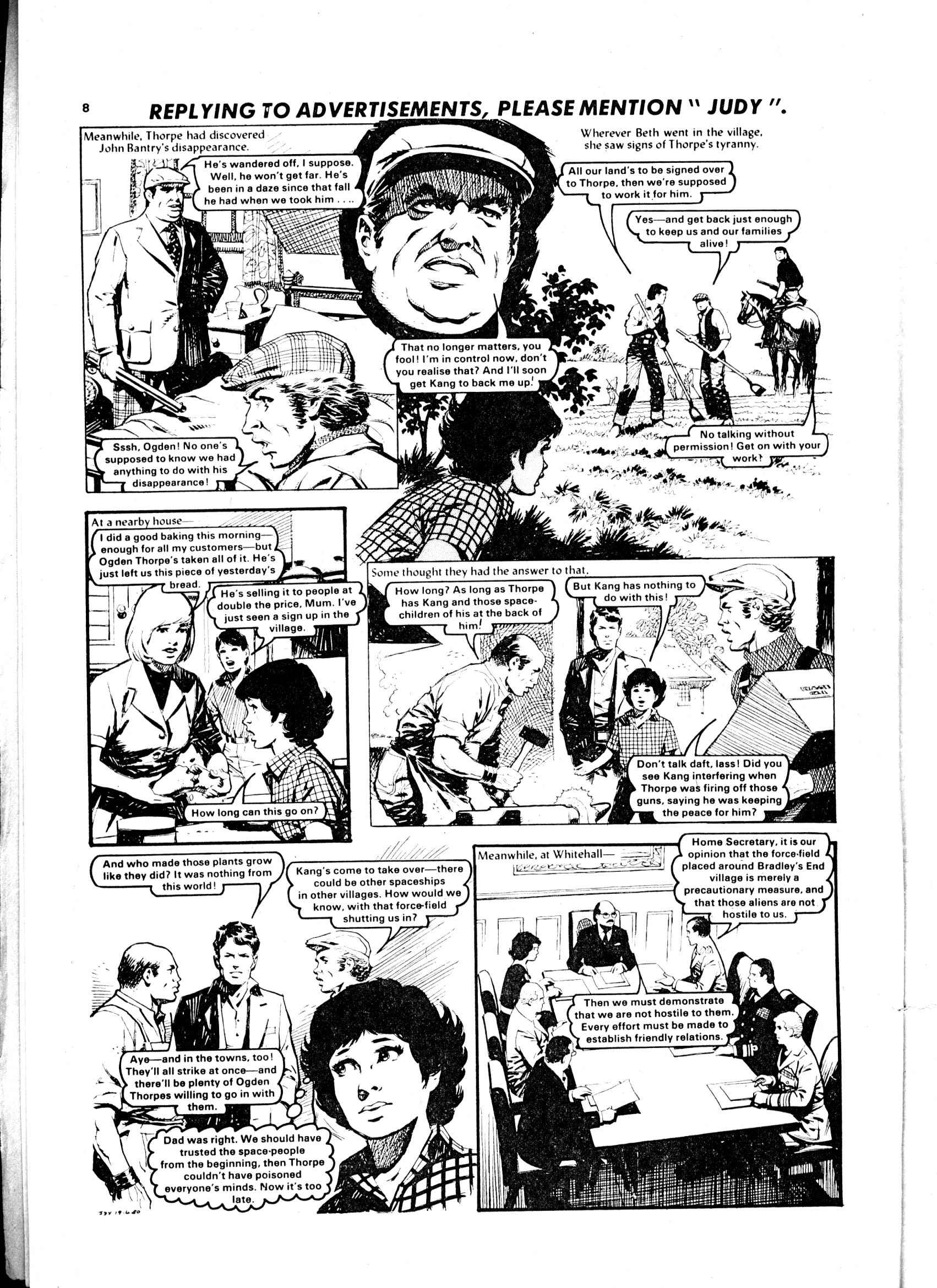 Read online Judy comic -  Issue #58 - 8