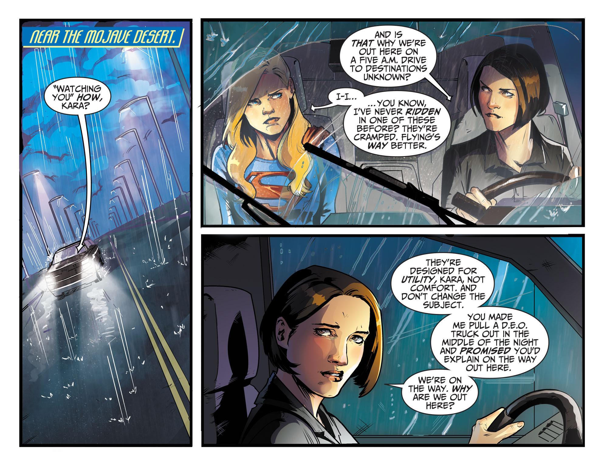 Read online Adventures of Supergirl comic -  Issue #8 - 7