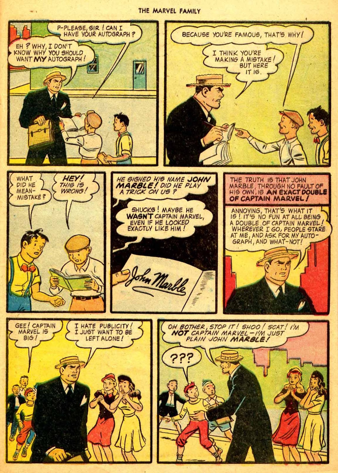 The Marvel Family issue 9 - Page 39