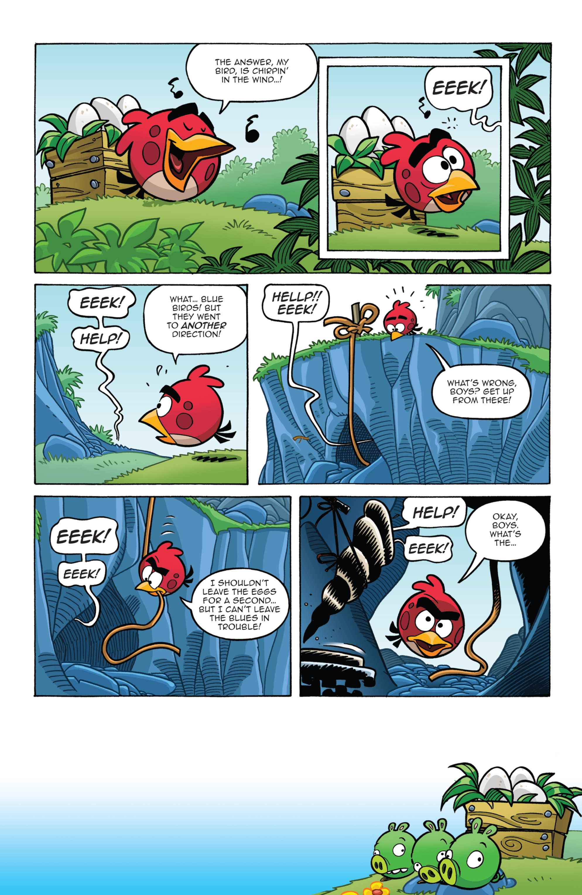 Read online Angry Birds Comics (2014) comic -  Issue #7 - 9