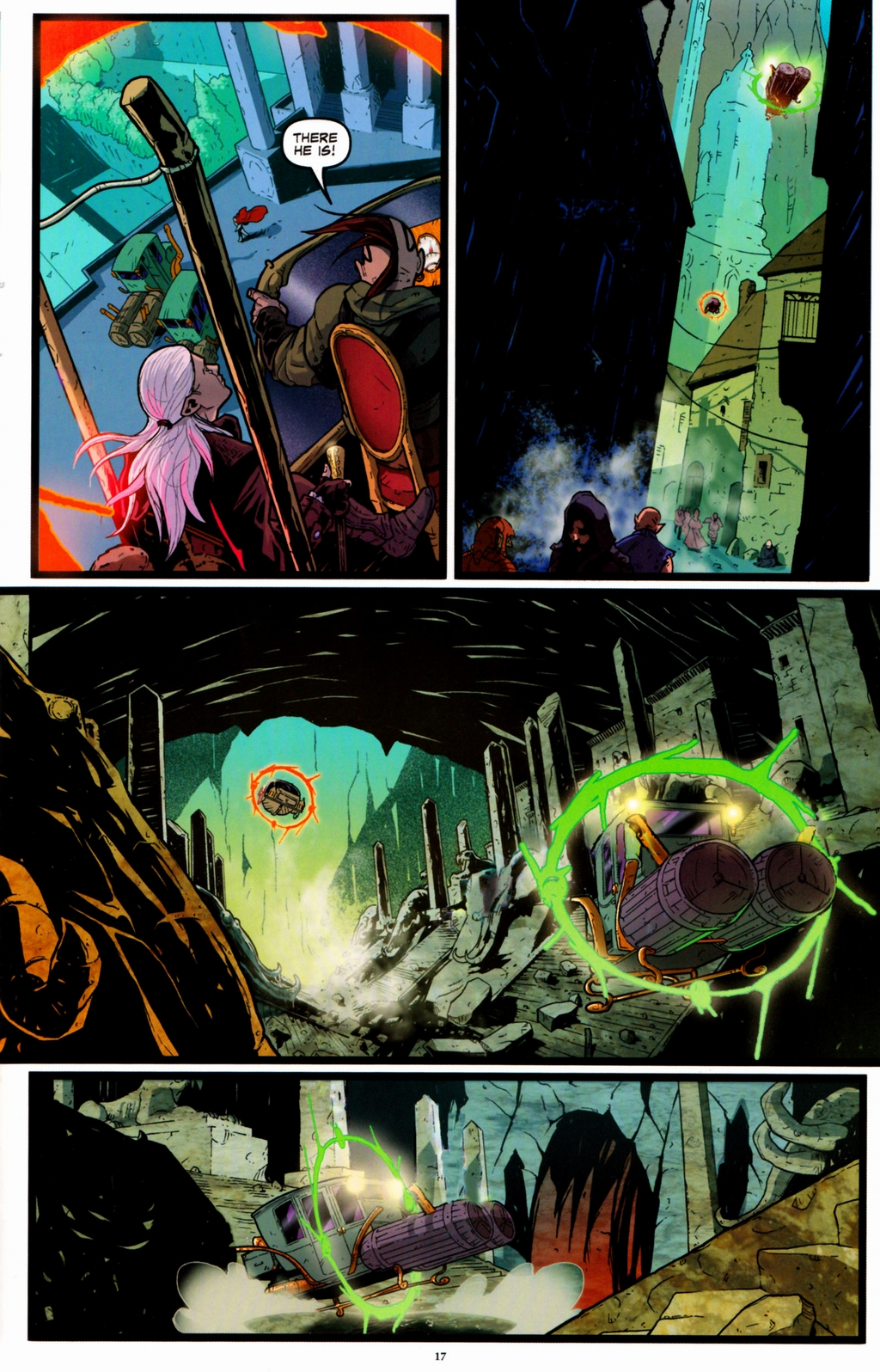 Read online Infestation 2: Dungeons & Dragons comic -  Issue #1 - 20