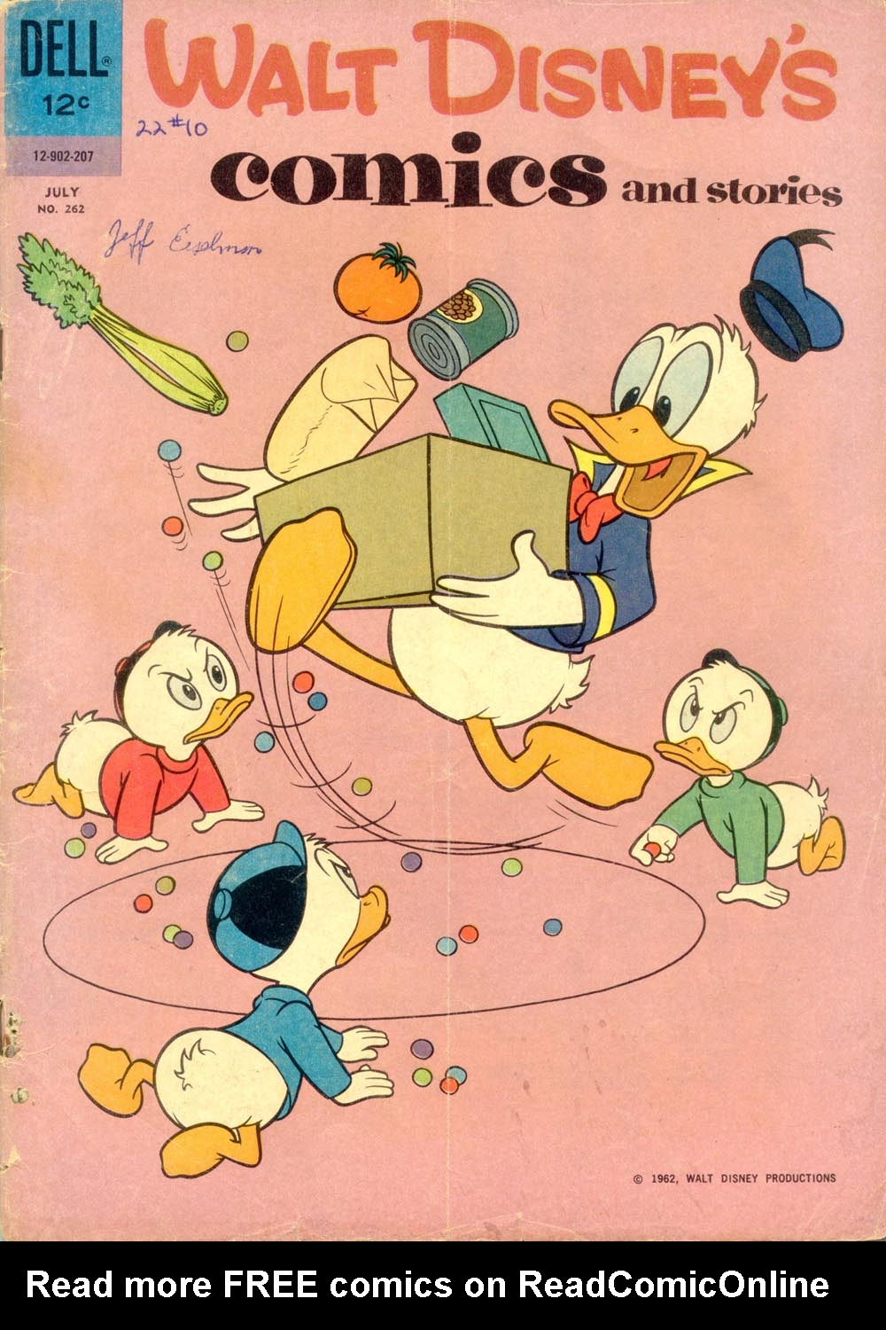 Walt Disney's Comics and Stories issue 262 - Page 1