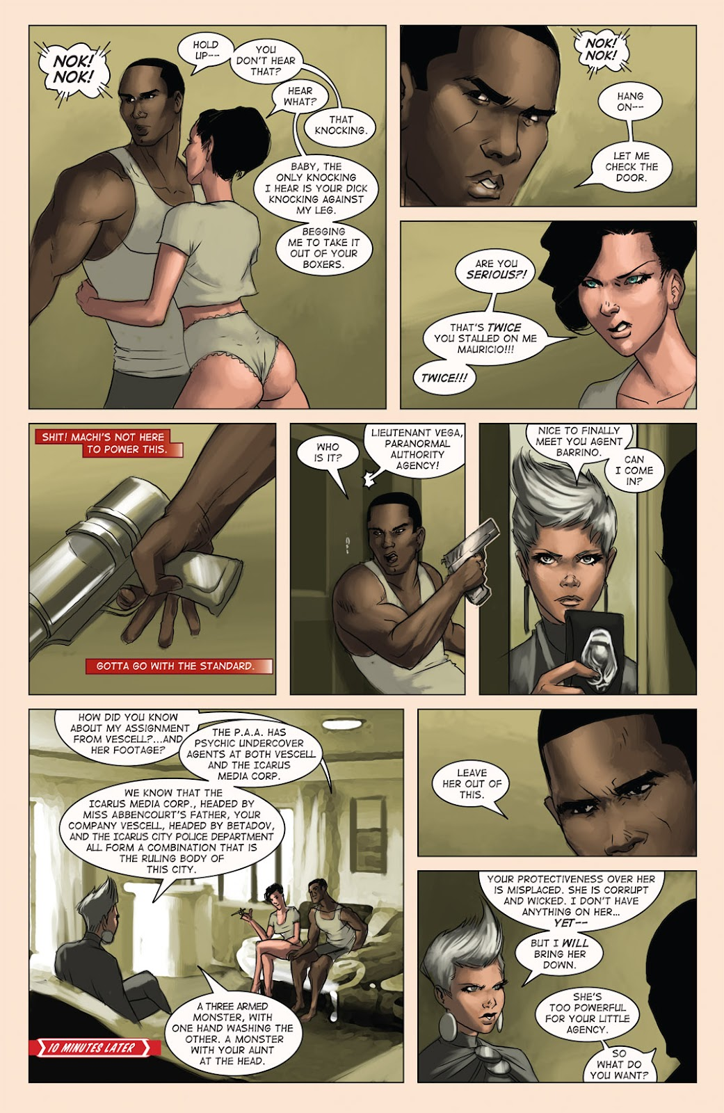 Read online Vescell comic -  Issue #4 - 25