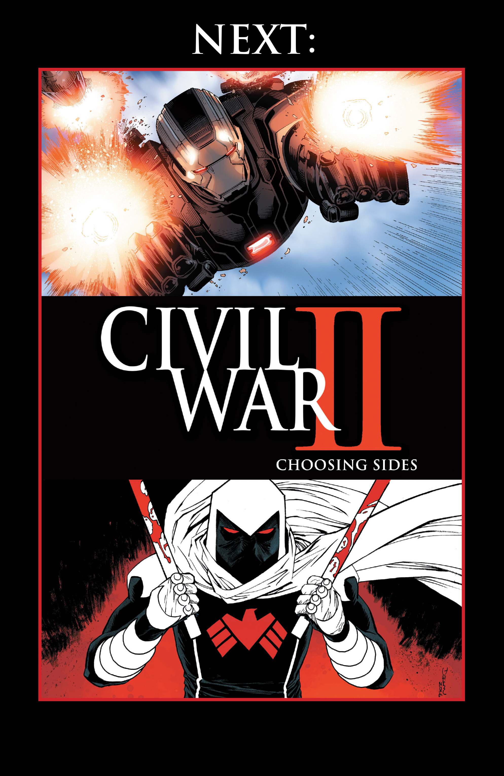 Read online Civil War II: Choosing Sides comic -  Issue #1 - 33