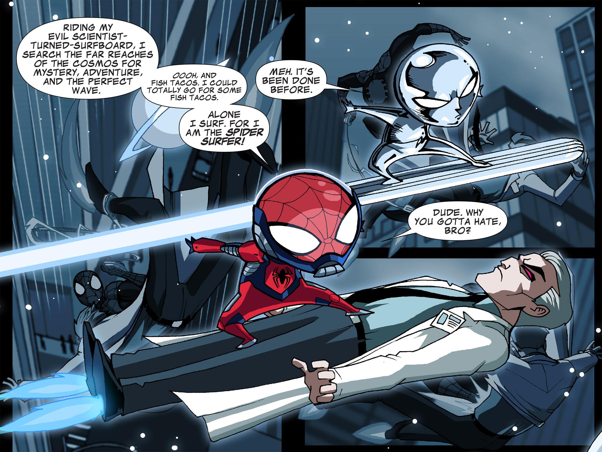 Read online Ultimate Spider-Man (Infinite Comics) (2015) comic -  Issue #5 - 32