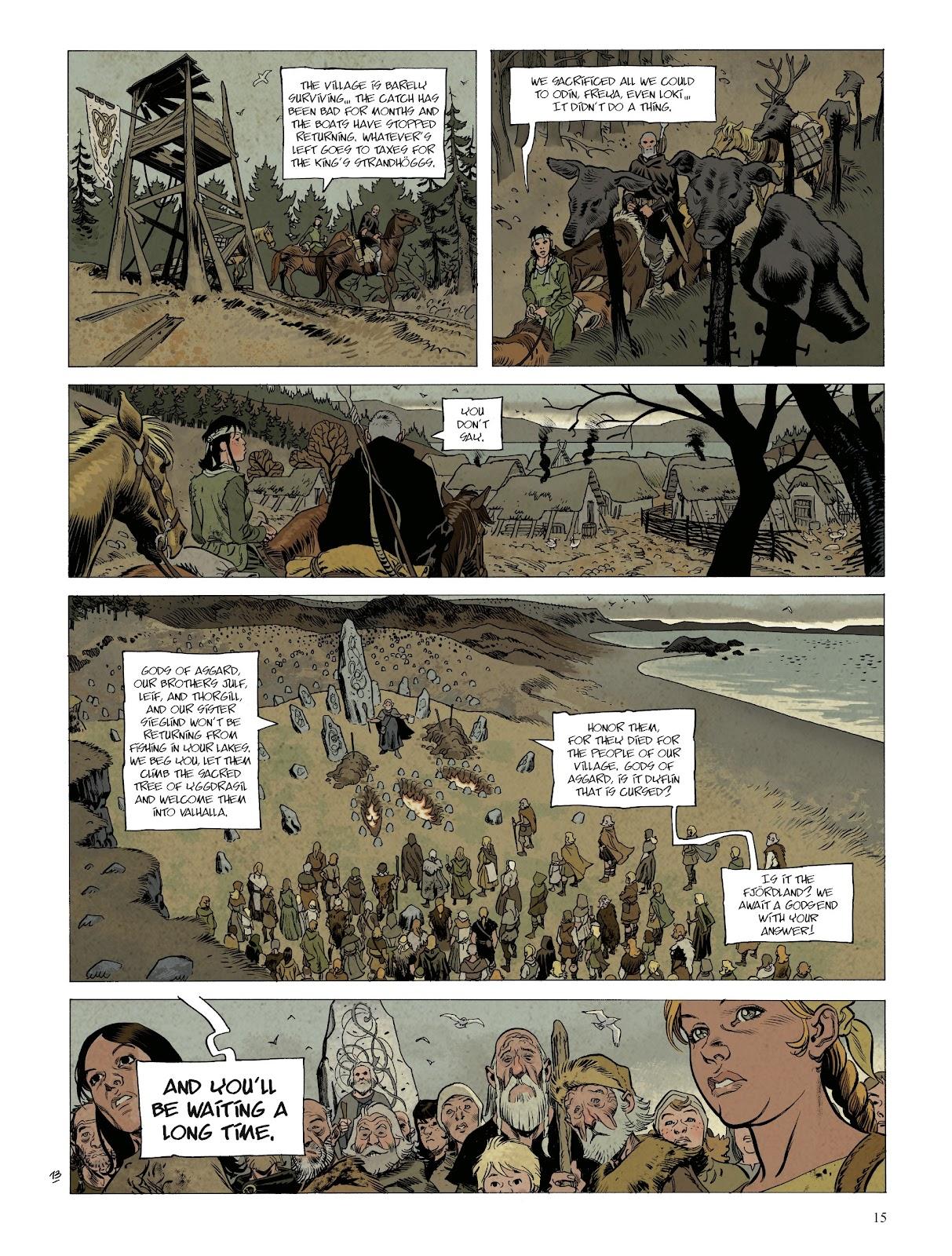 Read online Asgard comic -  Issue #1 - 17