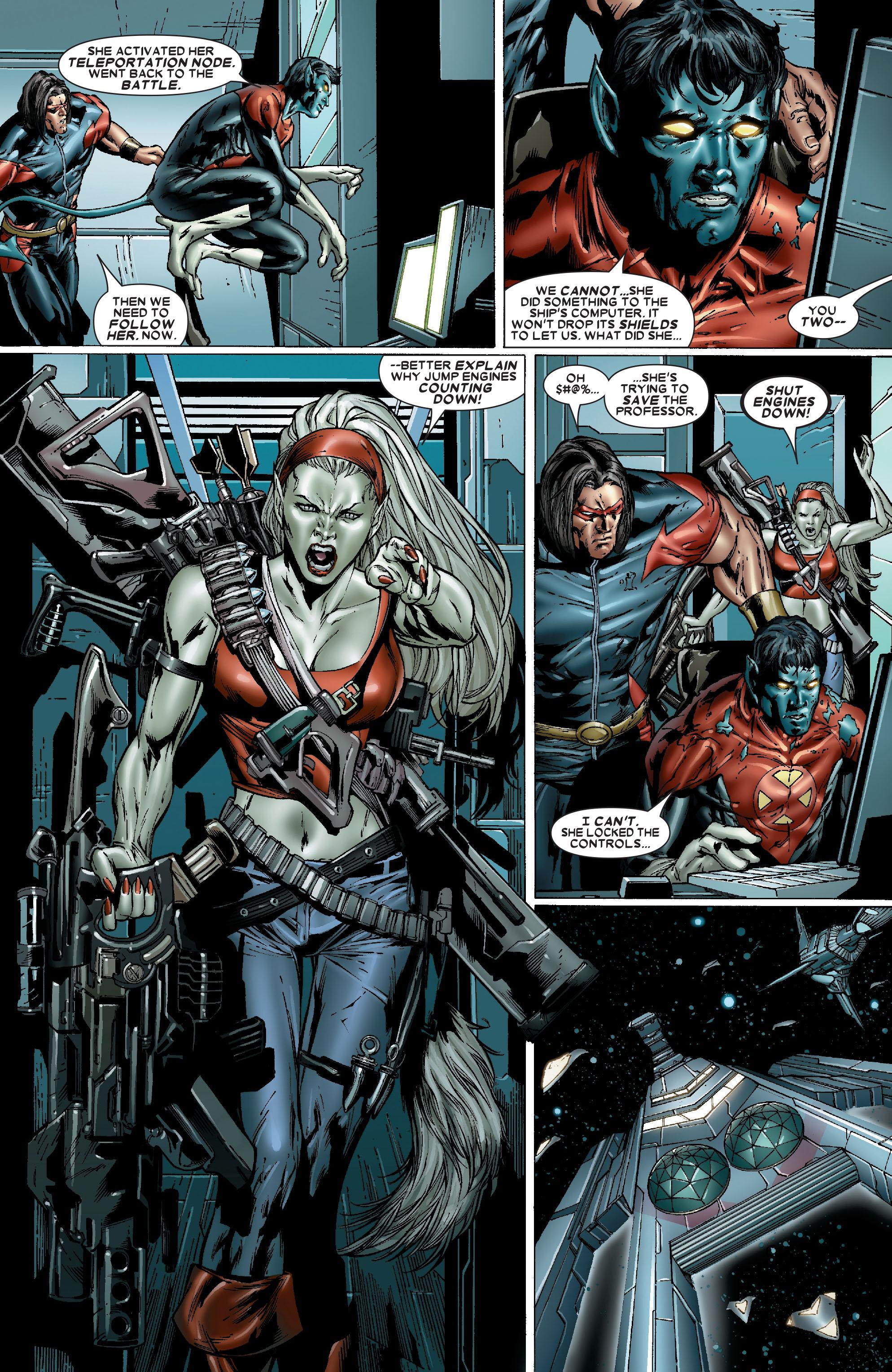 Read online Uncanny X-Men (1963) comic -  Issue #486 - 15