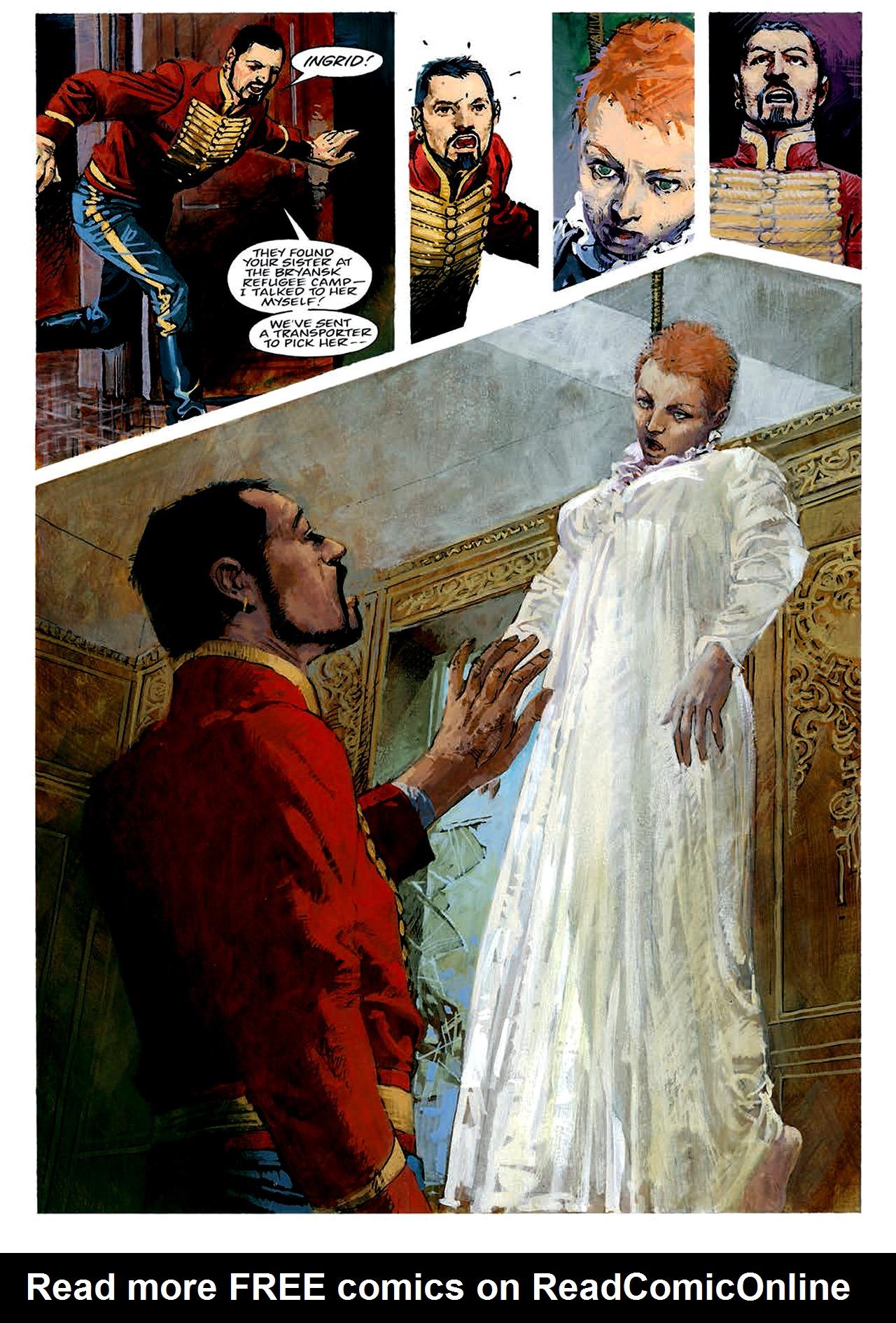 Read online Nikolai Dante comic -  Issue # TPB 4 - 51