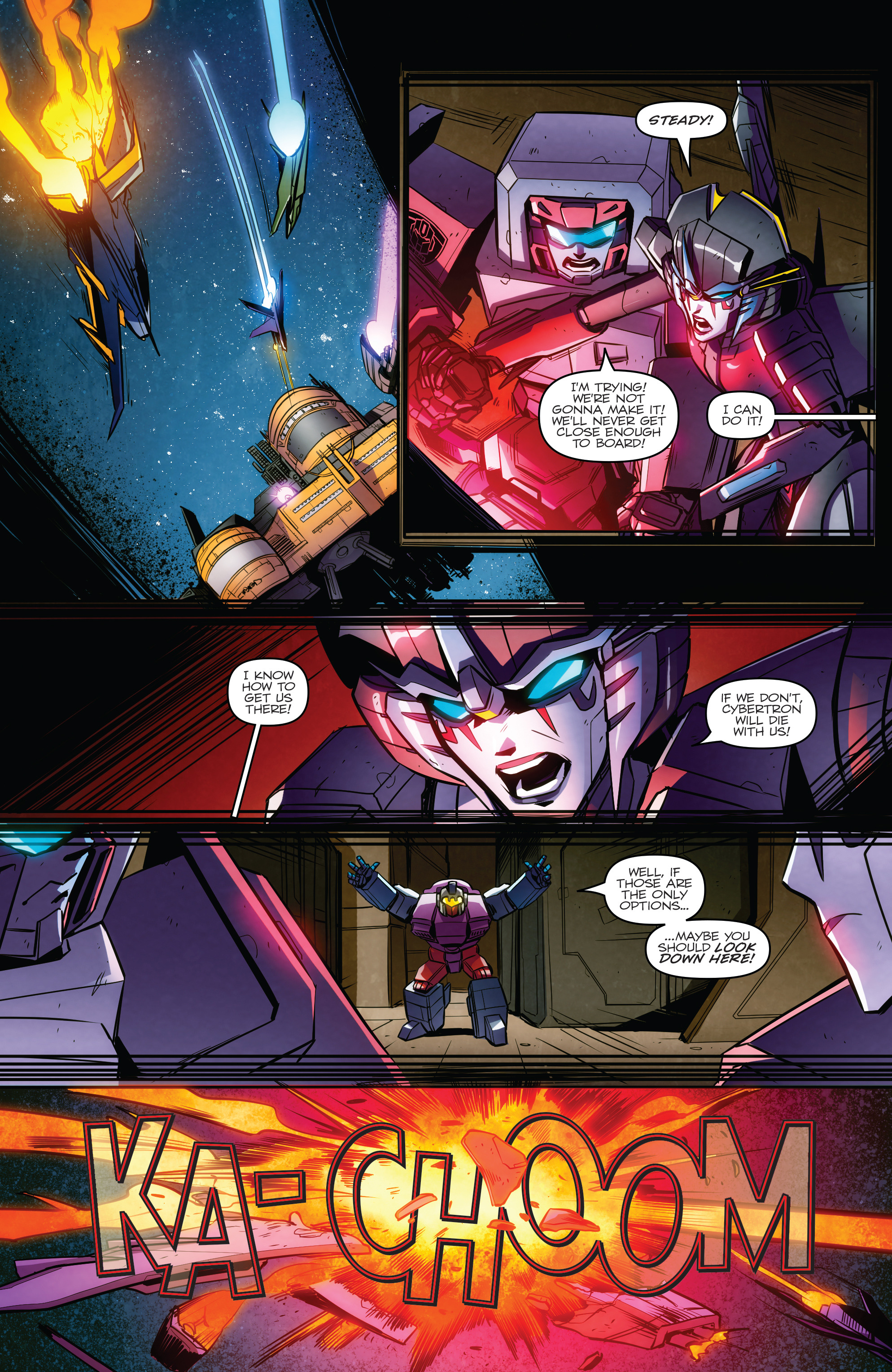 Read online Transformers: Till All Are One comic -  Issue #7 - 13