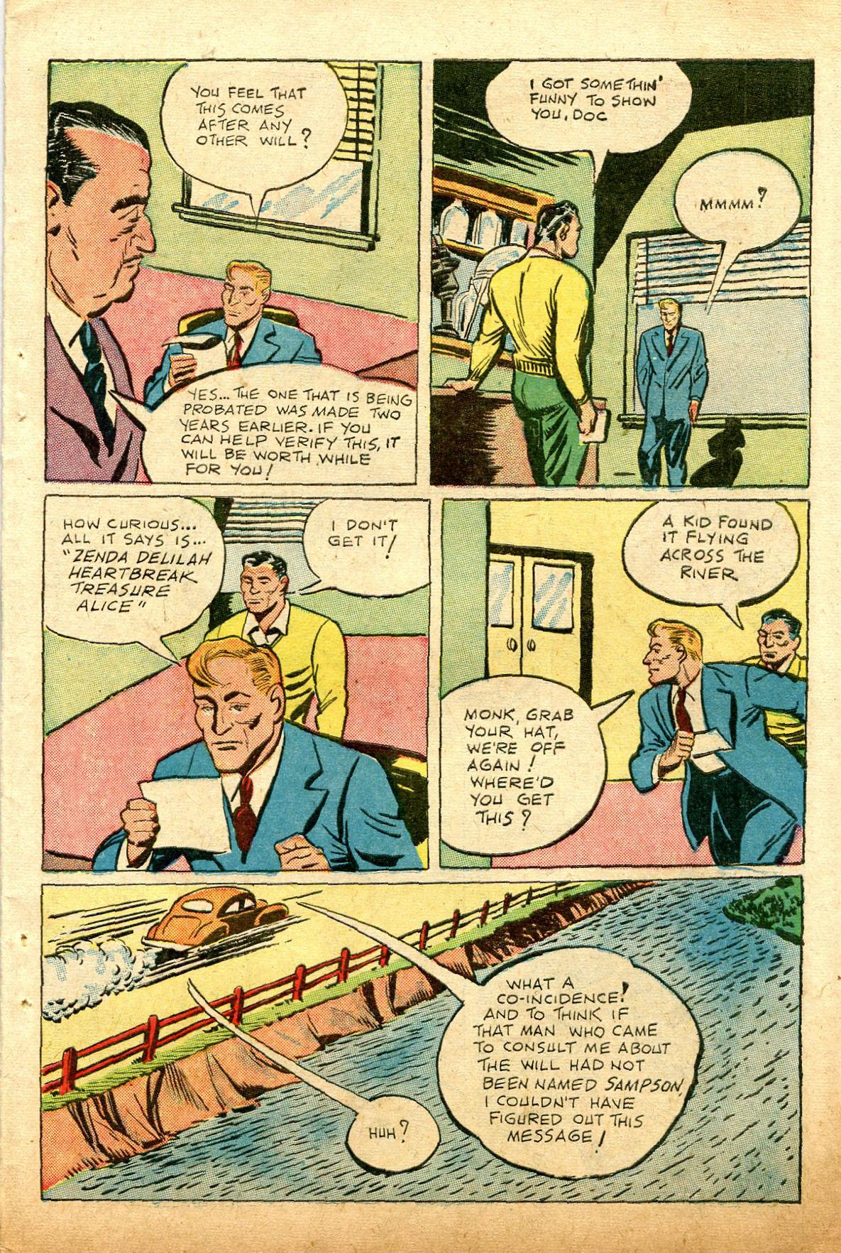 Read online Shadow Comics comic -  Issue #74 - 39