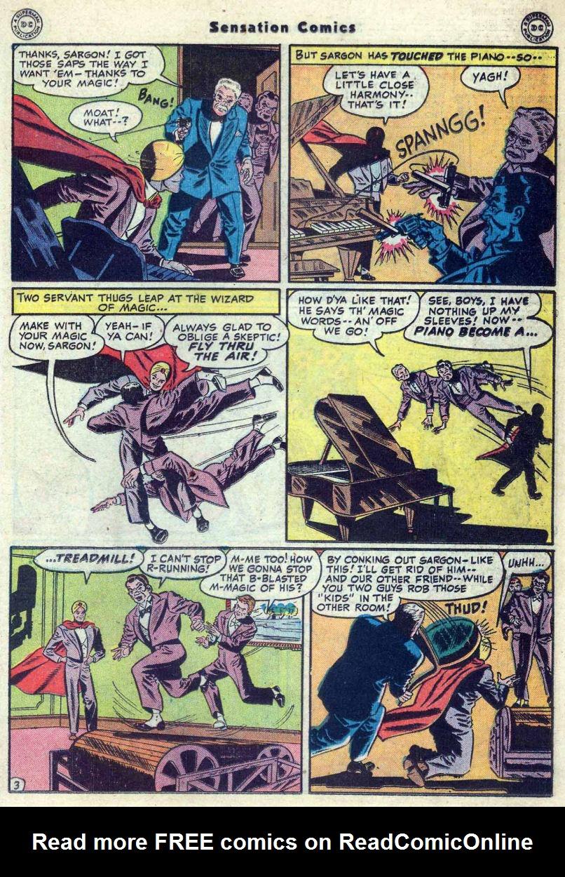 Read online Sensation (Mystery) Comics comic -  Issue #82 - 27