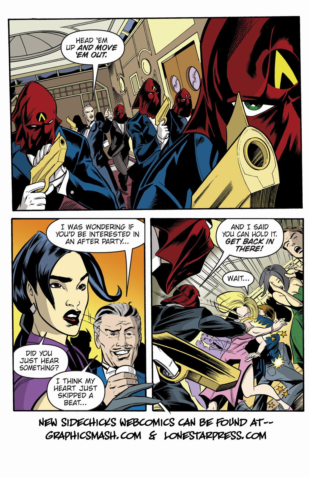 Read online SideChicks comic -  Issue #1 - 6