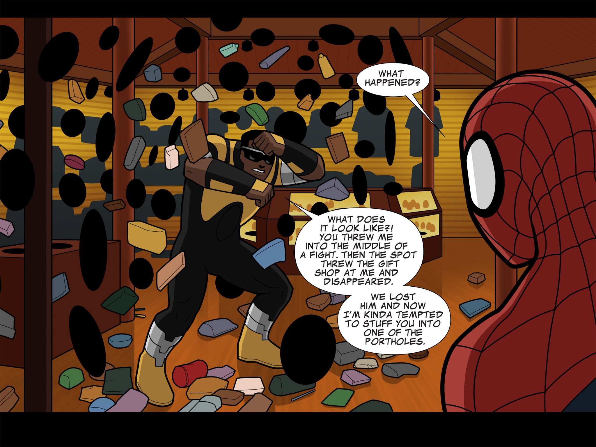 Read online Ultimate Spider-Man (Infinite Comics) (2015) comic -  Issue #9 - 36