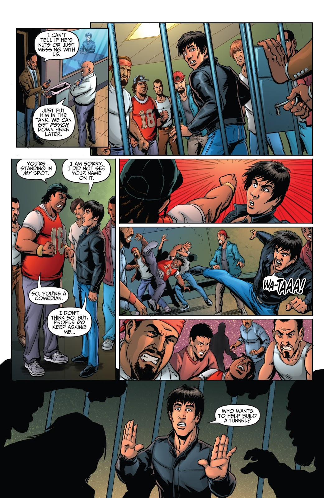 Bruce Lee: Walk of the Dragon issue Full - Page 21
