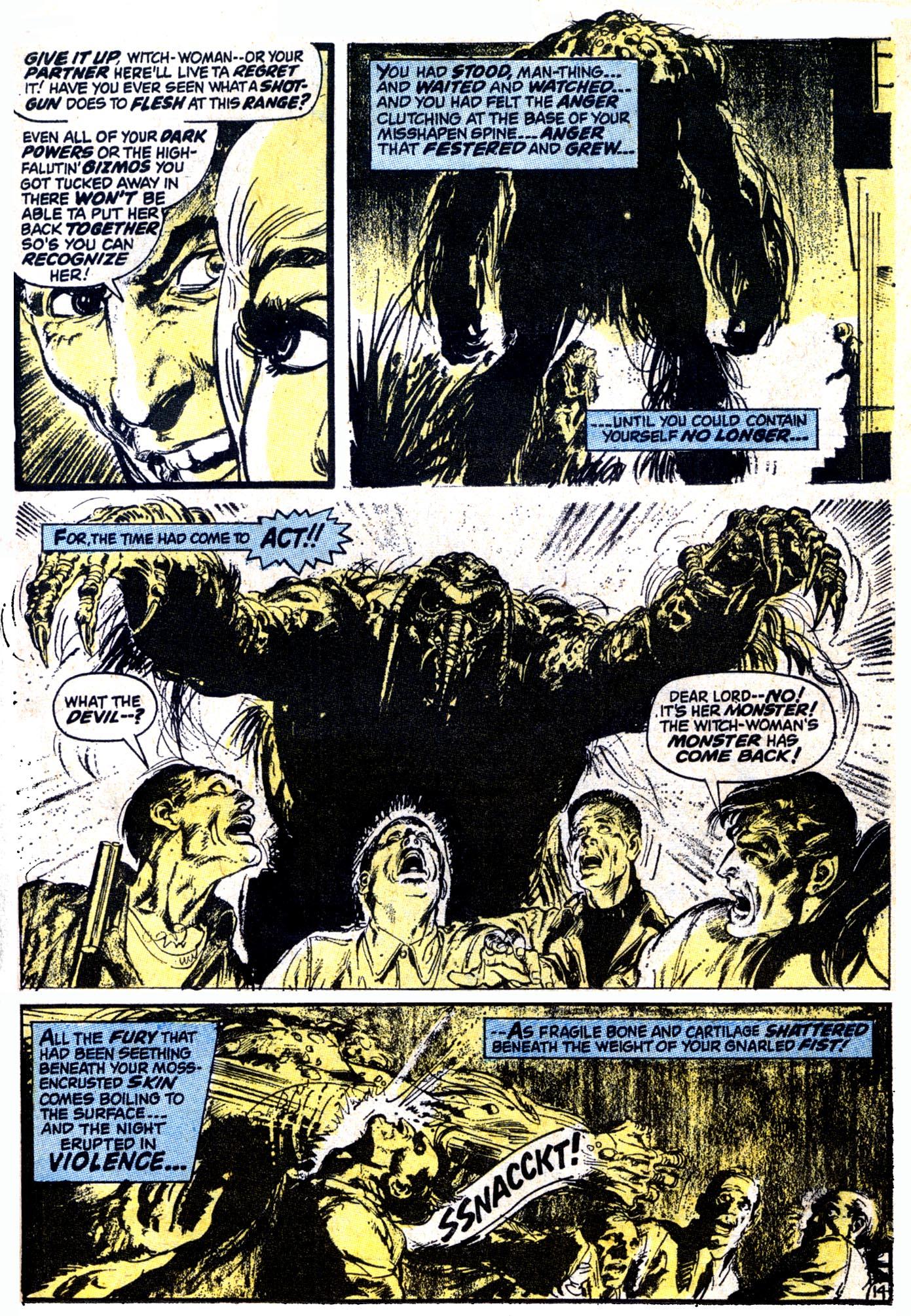 Read online Astonishing Tales (1970) comic -  Issue #12 - 15