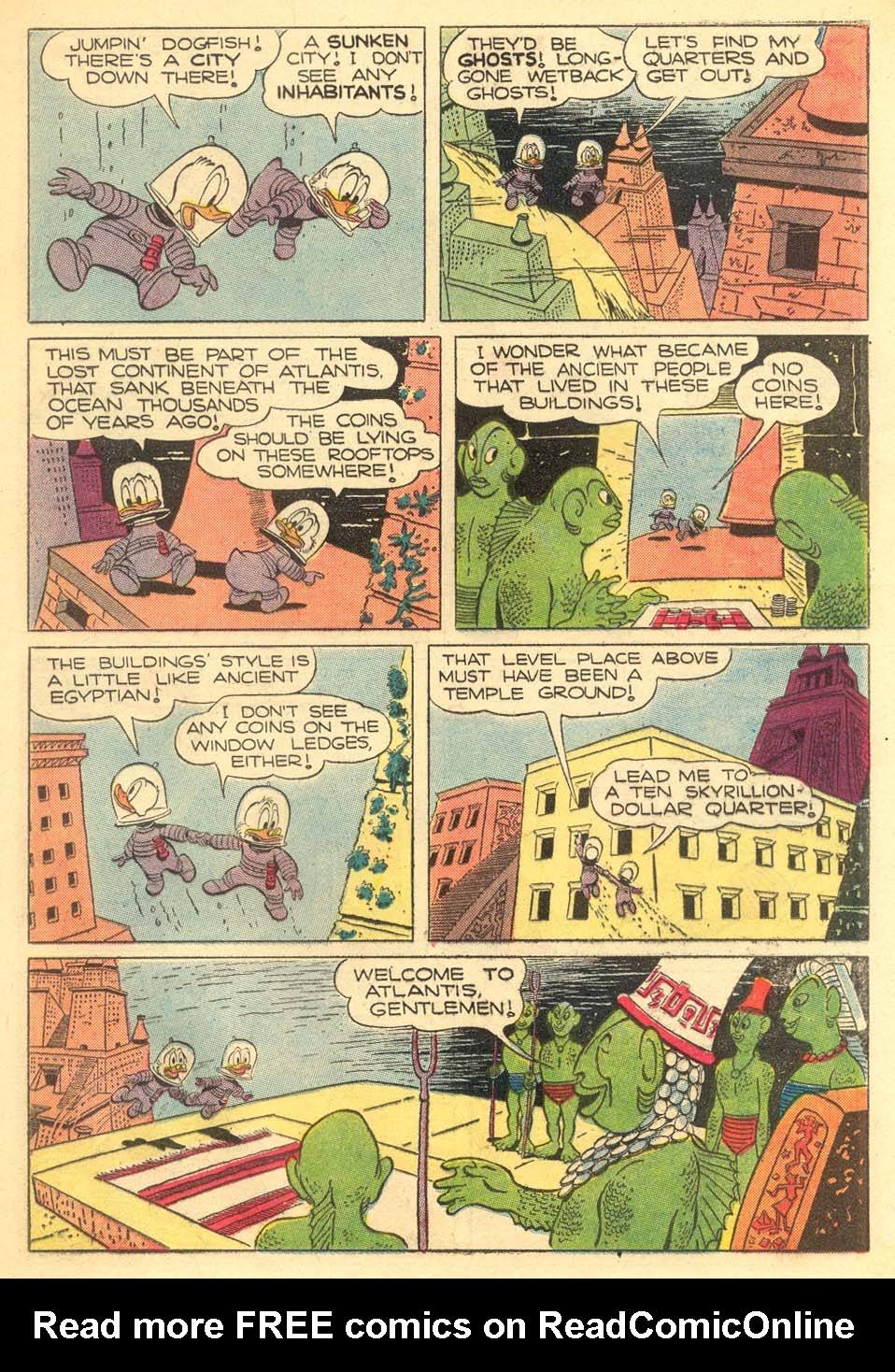 Read online Uncle Scrooge (1953) comic -  Issue #5 - 21