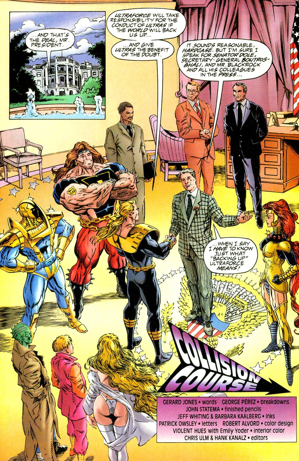 Read online UltraForce (1994) comic -  Issue #2 - 4