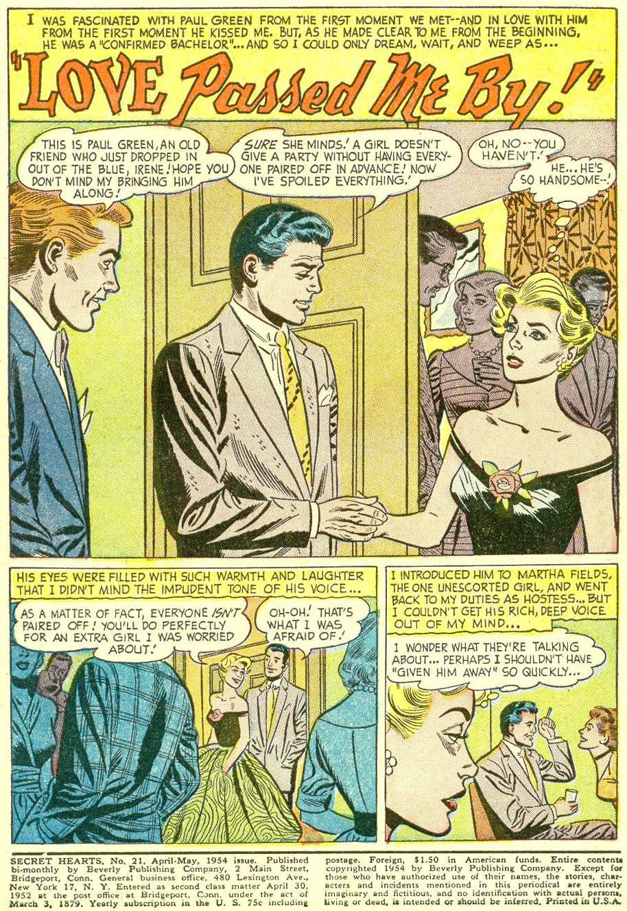 Read online Secret Hearts comic -  Issue #21 - 3