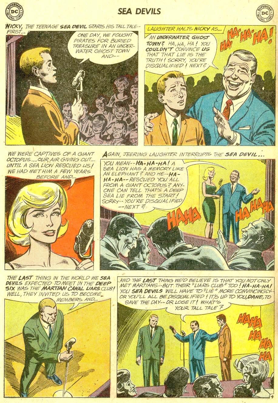 Read online Sea Devils comic -  Issue #10 - 7