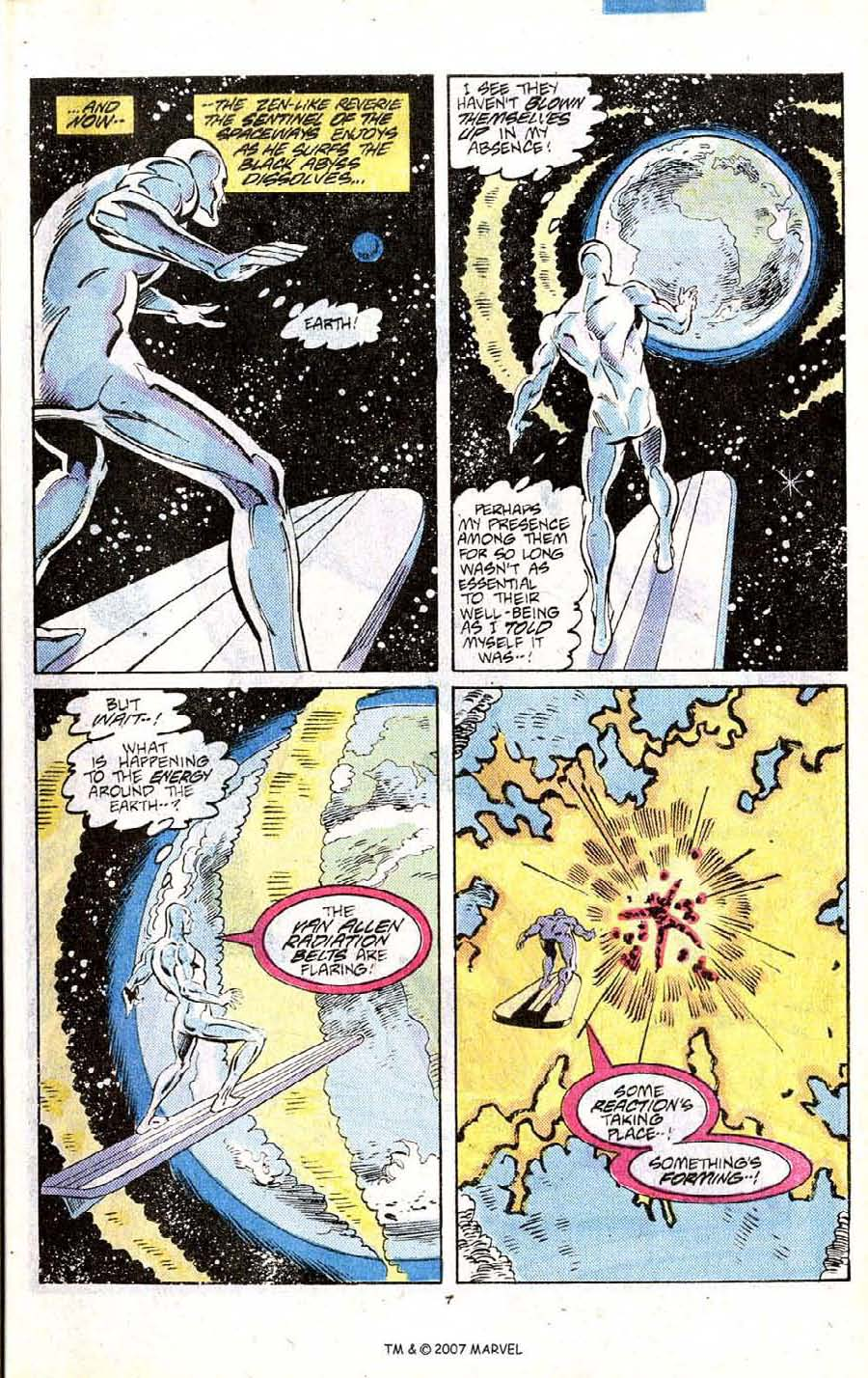 Read online Silver Surfer (1987) comic -  Issue # _Annual 1 - 9
